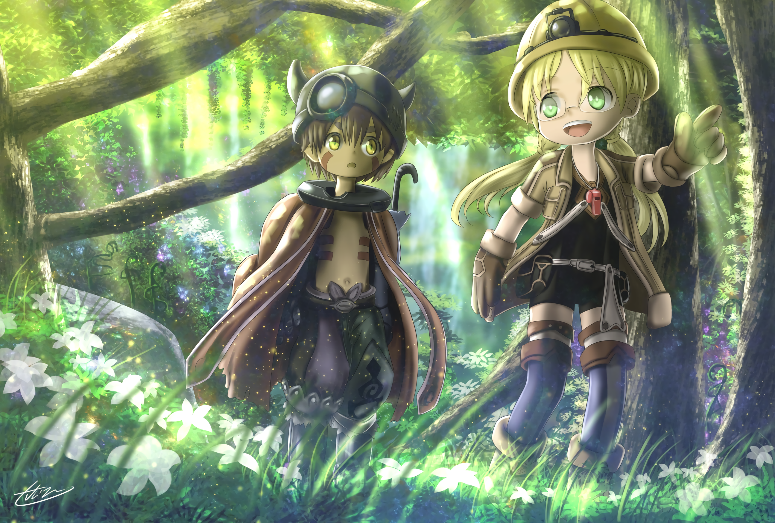 Made In Abyss Wallpapers Top Free Made In Abyss