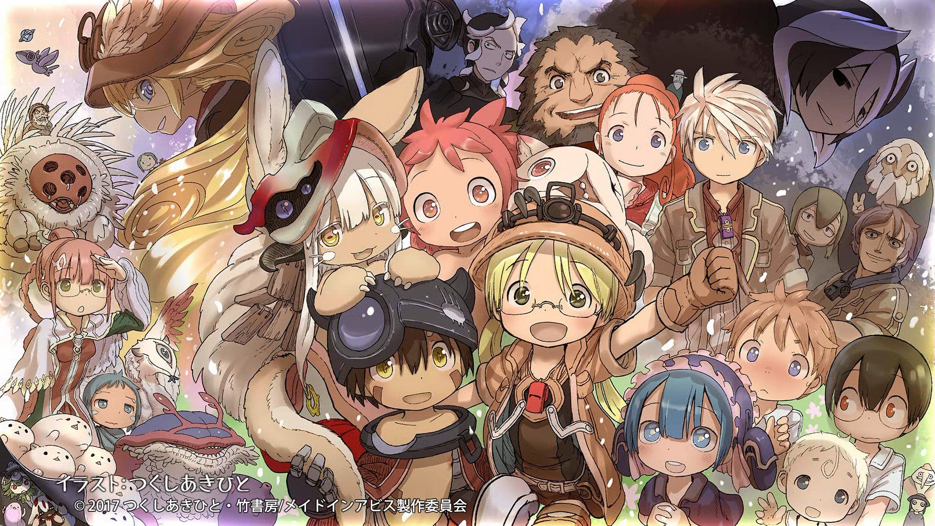 Made In Abyss Wallpapers Top Free Made In Abyss Backgrounds Wallpaperaccess