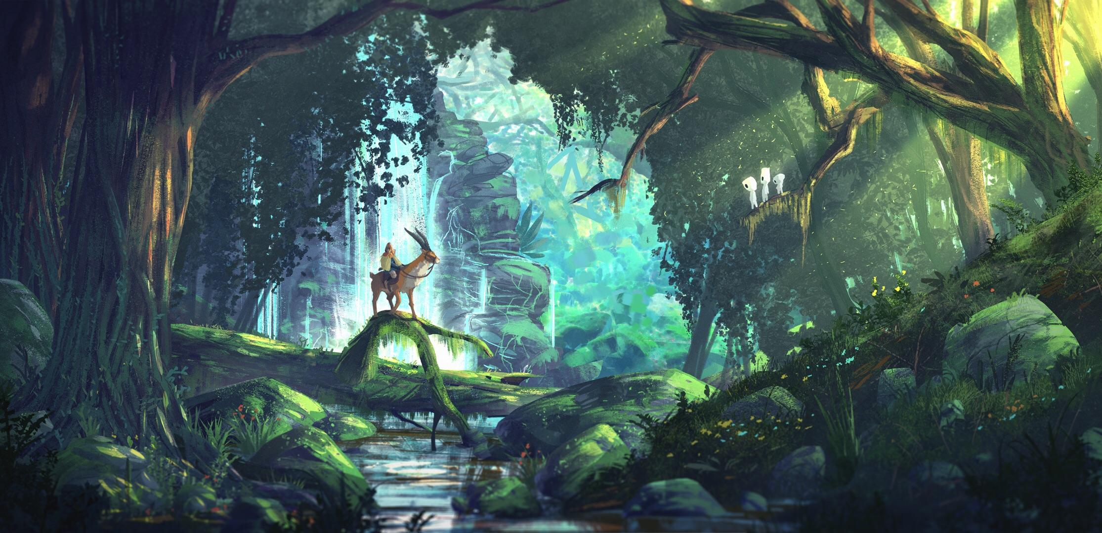 Princess Mononoke 1080p