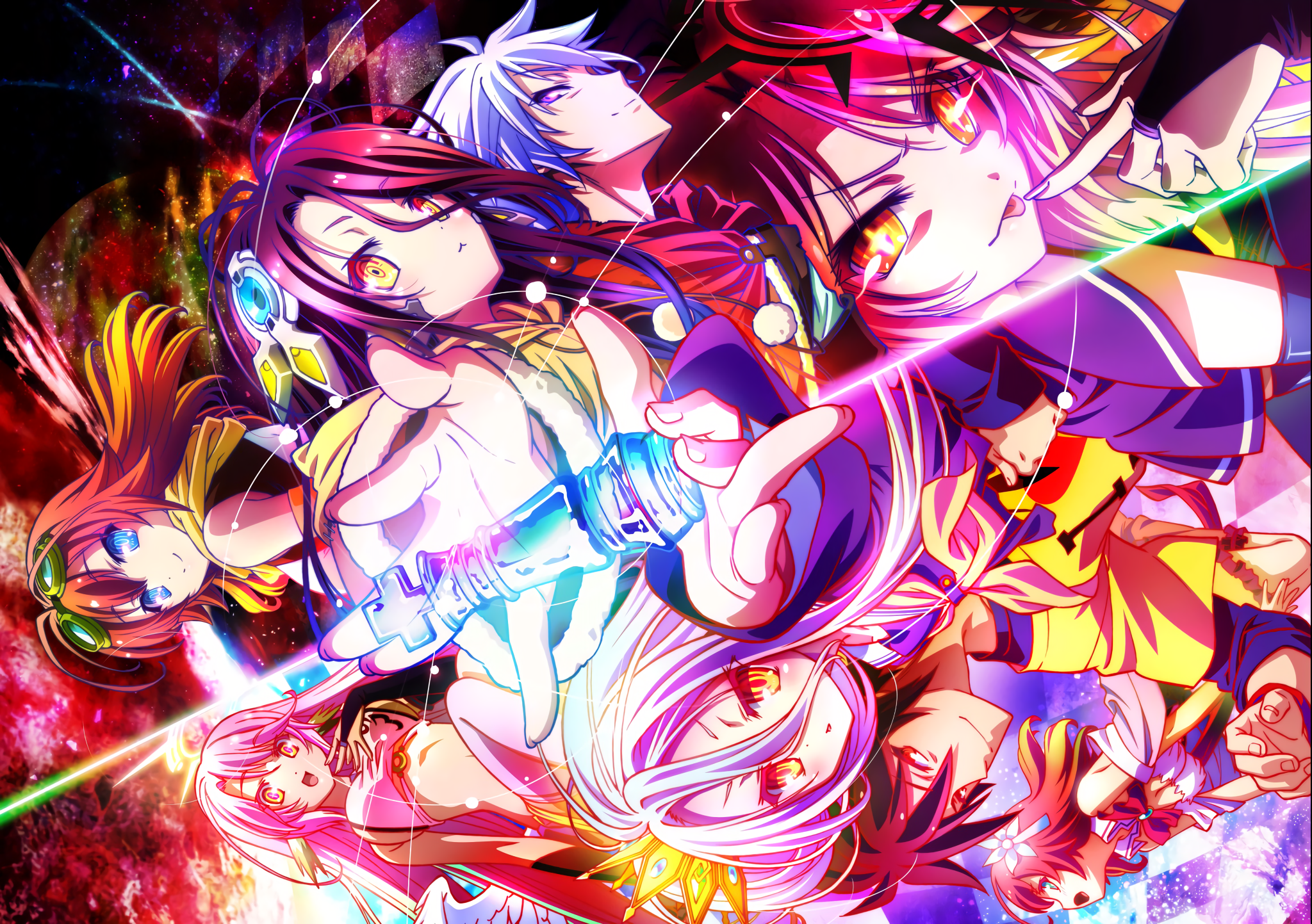 No Game No Life Wallpapers Top Free No Game No Life Backgrounds