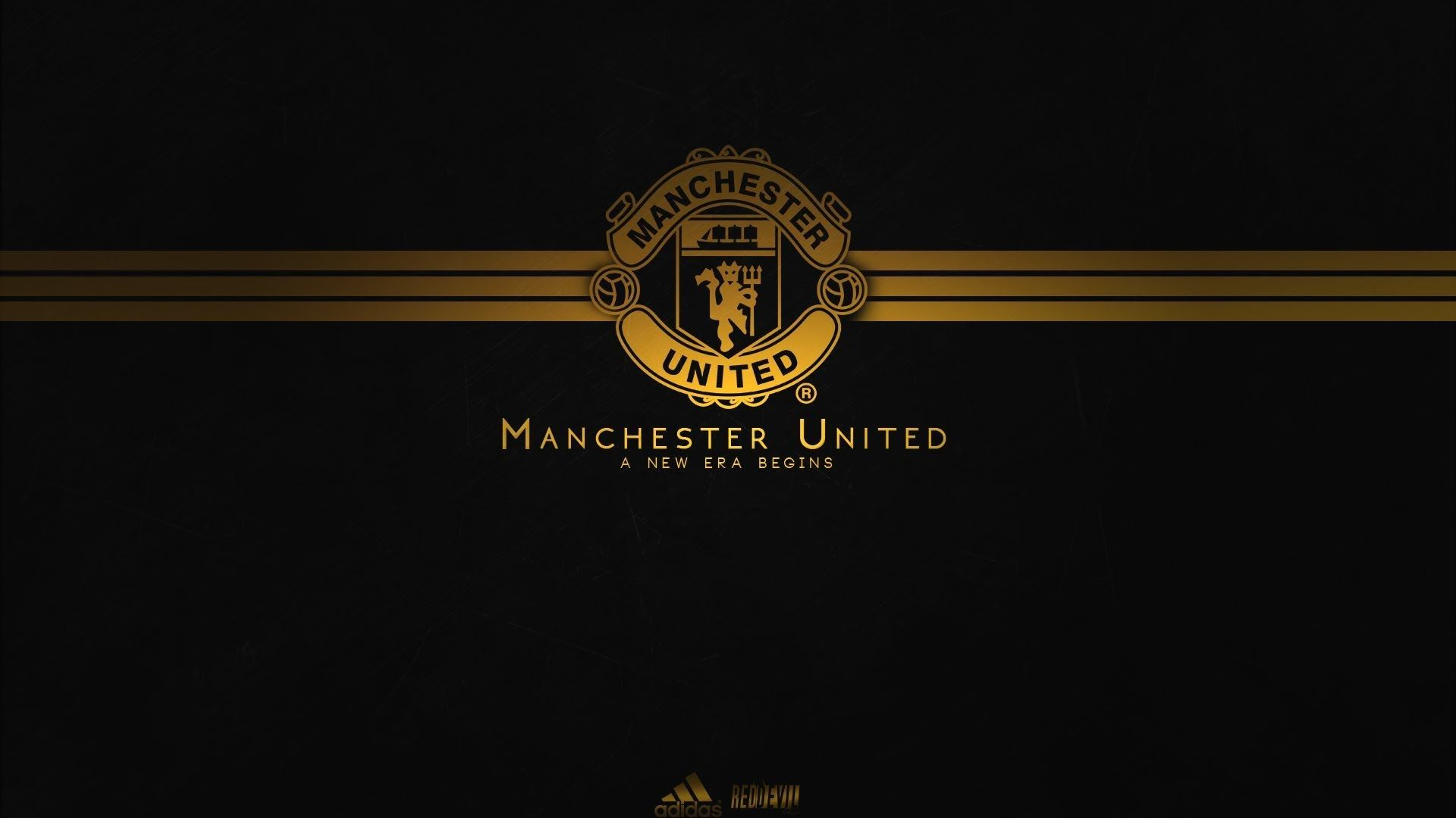 The Best Manchester United Logo Black