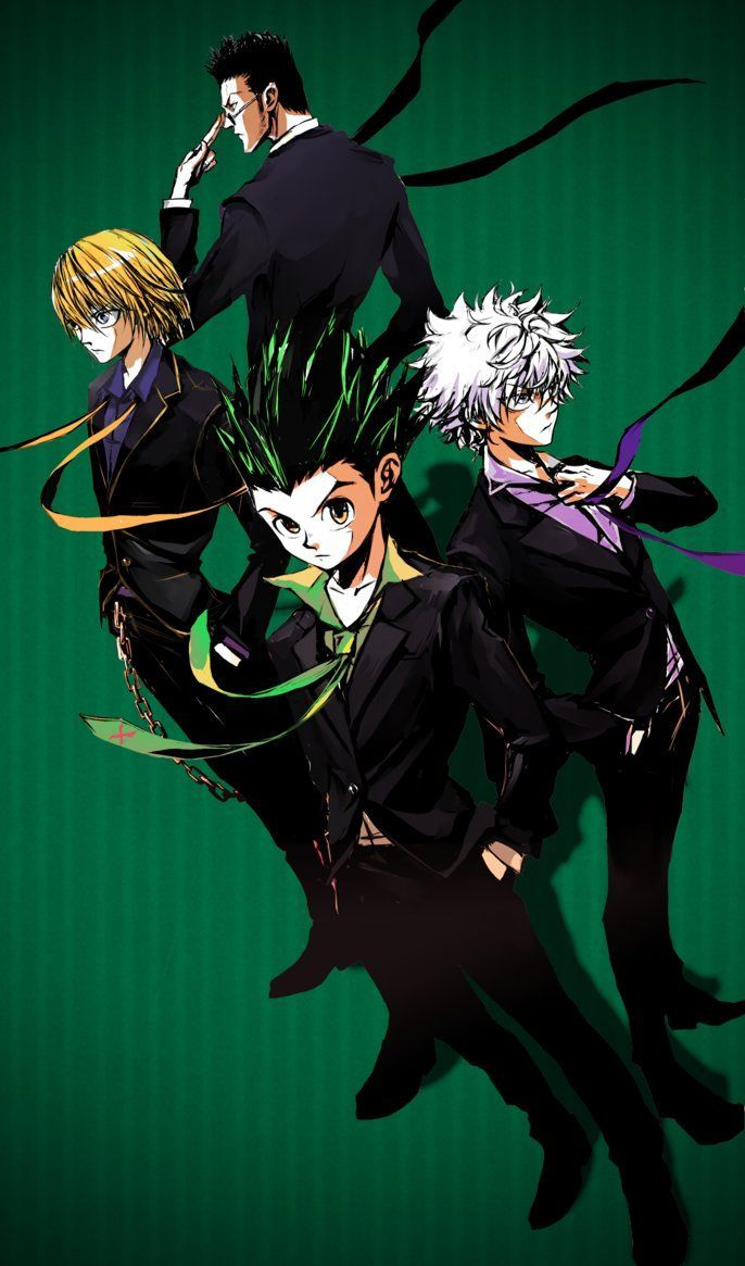 Hunter X Hunter Iphone Wallpapers Top Free Hunter X Hunter