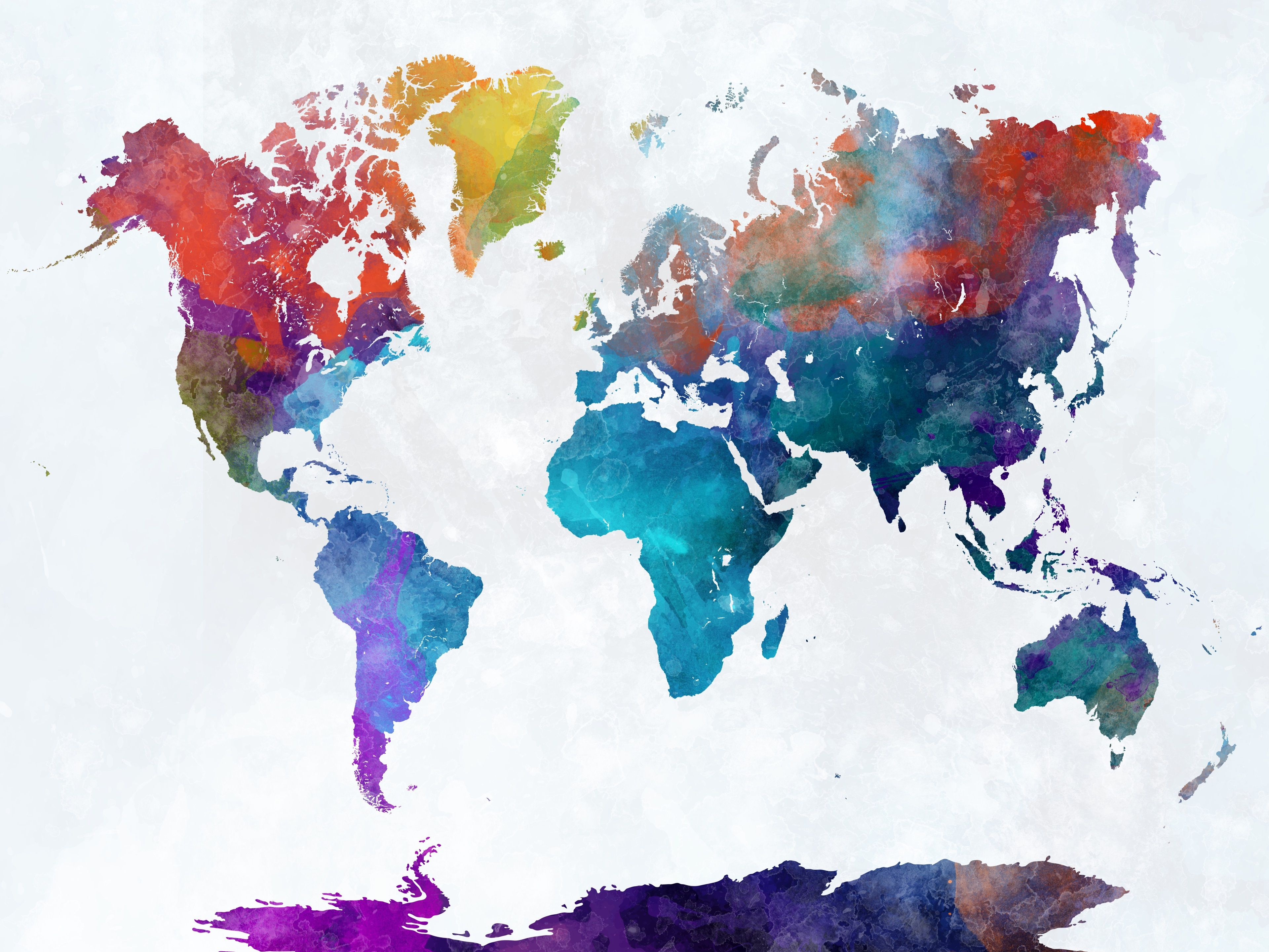 World Map Wallpapers Top Free World Map Backgrounds