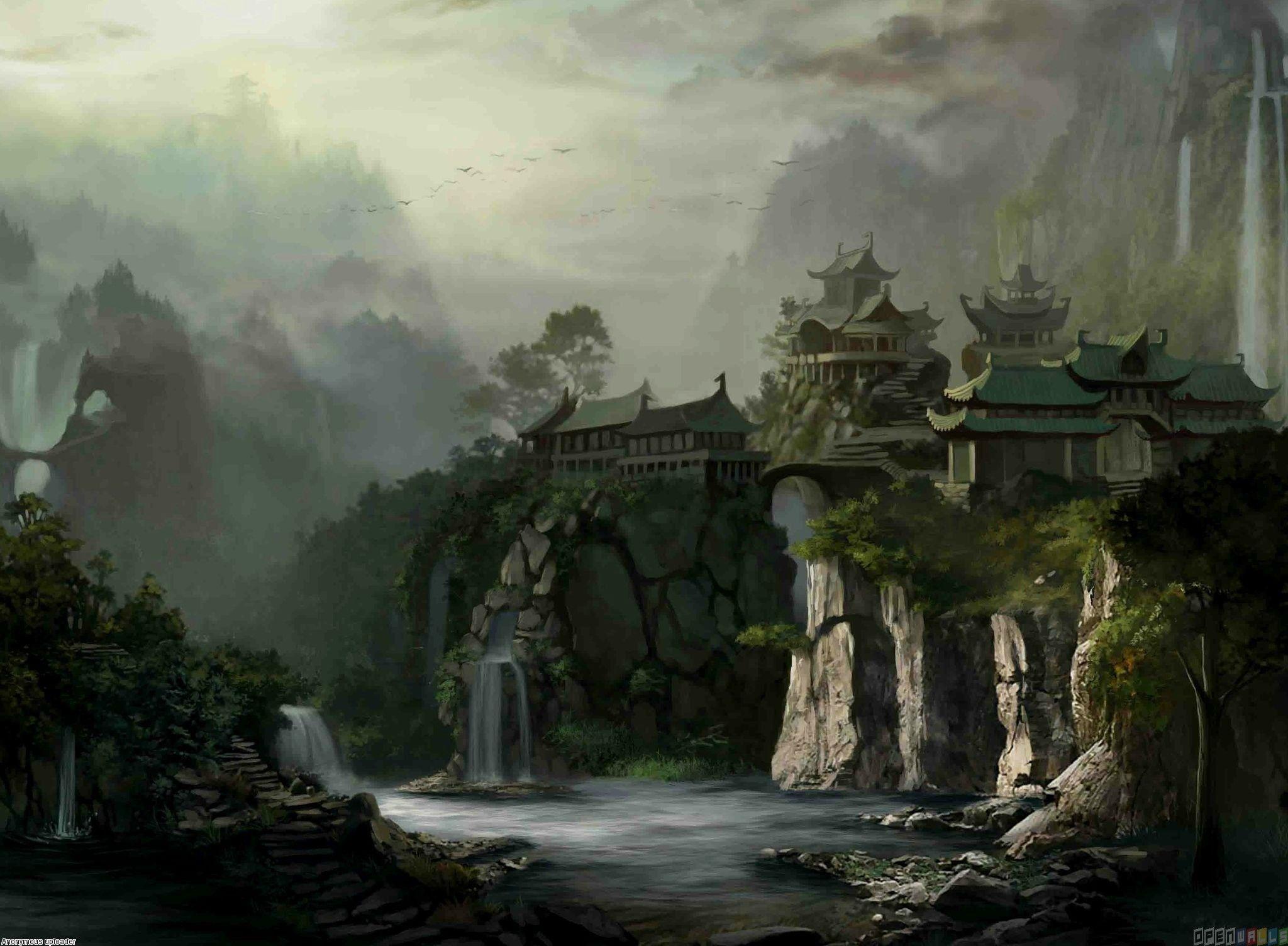 2048x1504 japanese castle | Japan fantasy castle wallpaper #25070 - Open Walls .