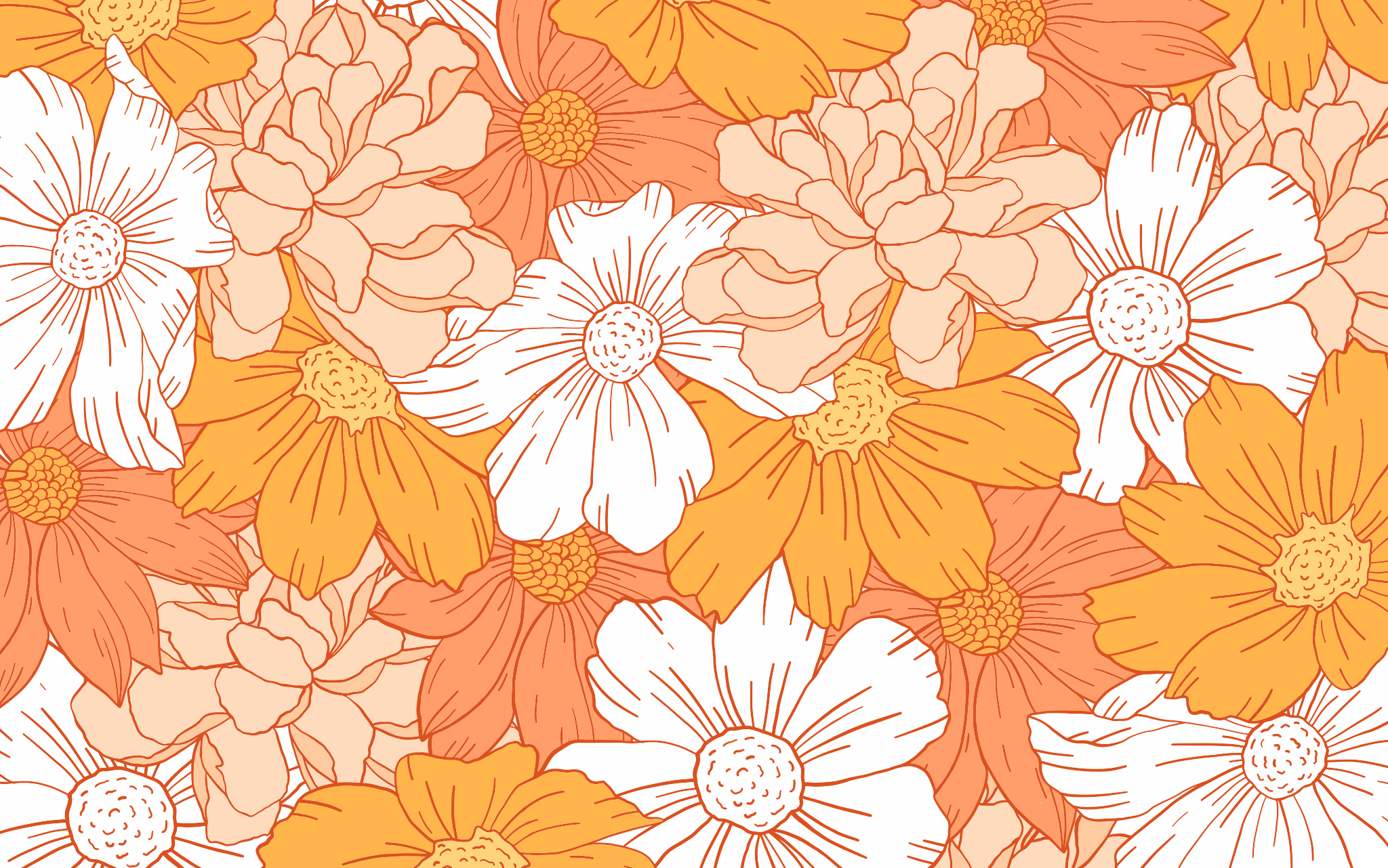 Orange Aesthetic Desktop Wallpapers Top Free Orange