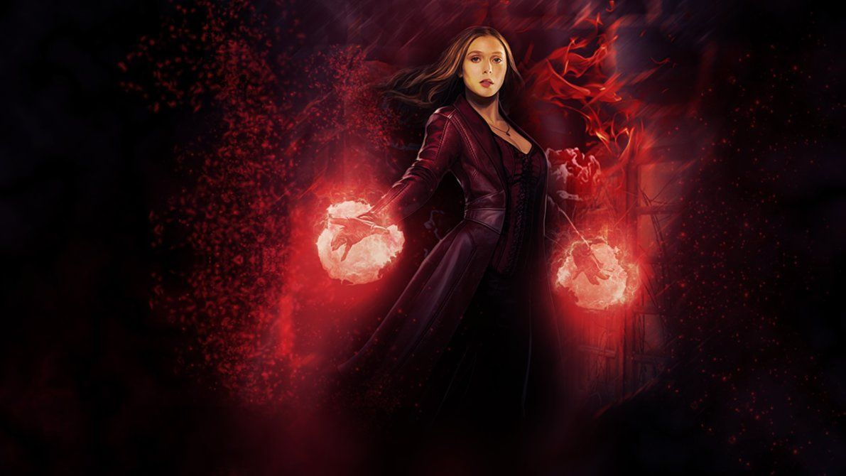 Scarlet Witch Wallpapers Top Free Scarlet Witch Backgrounds