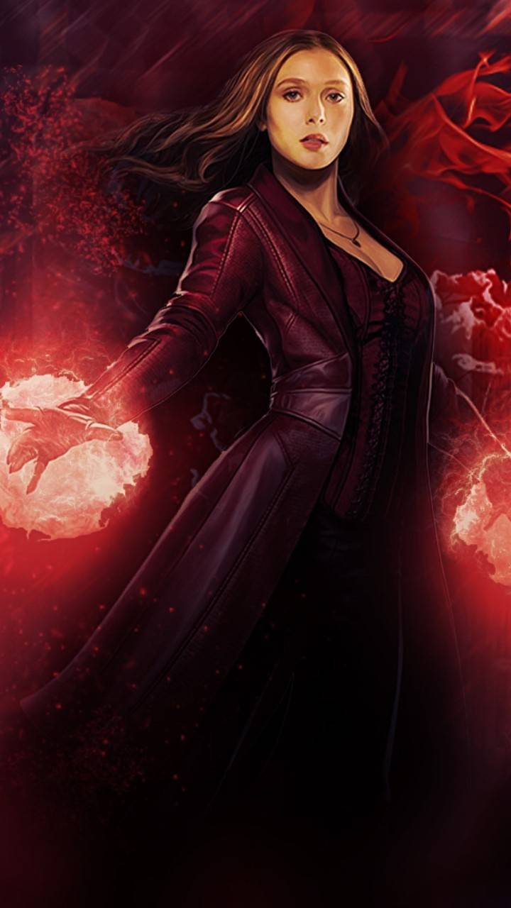 Avengers Wallpaper Scarlet Witch