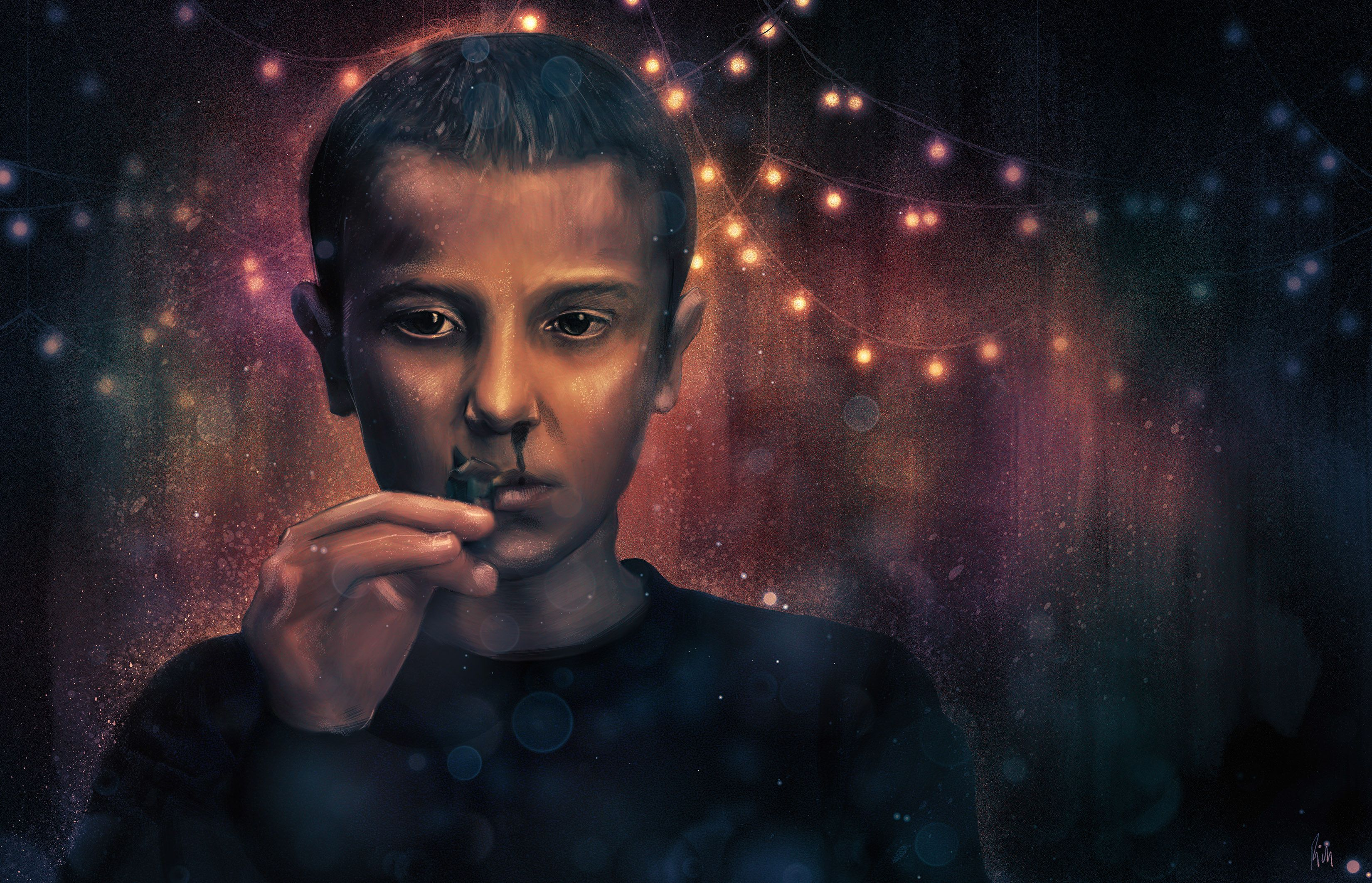 Eleven Stranger Things Desktop Wallpapers Top Free Eleven