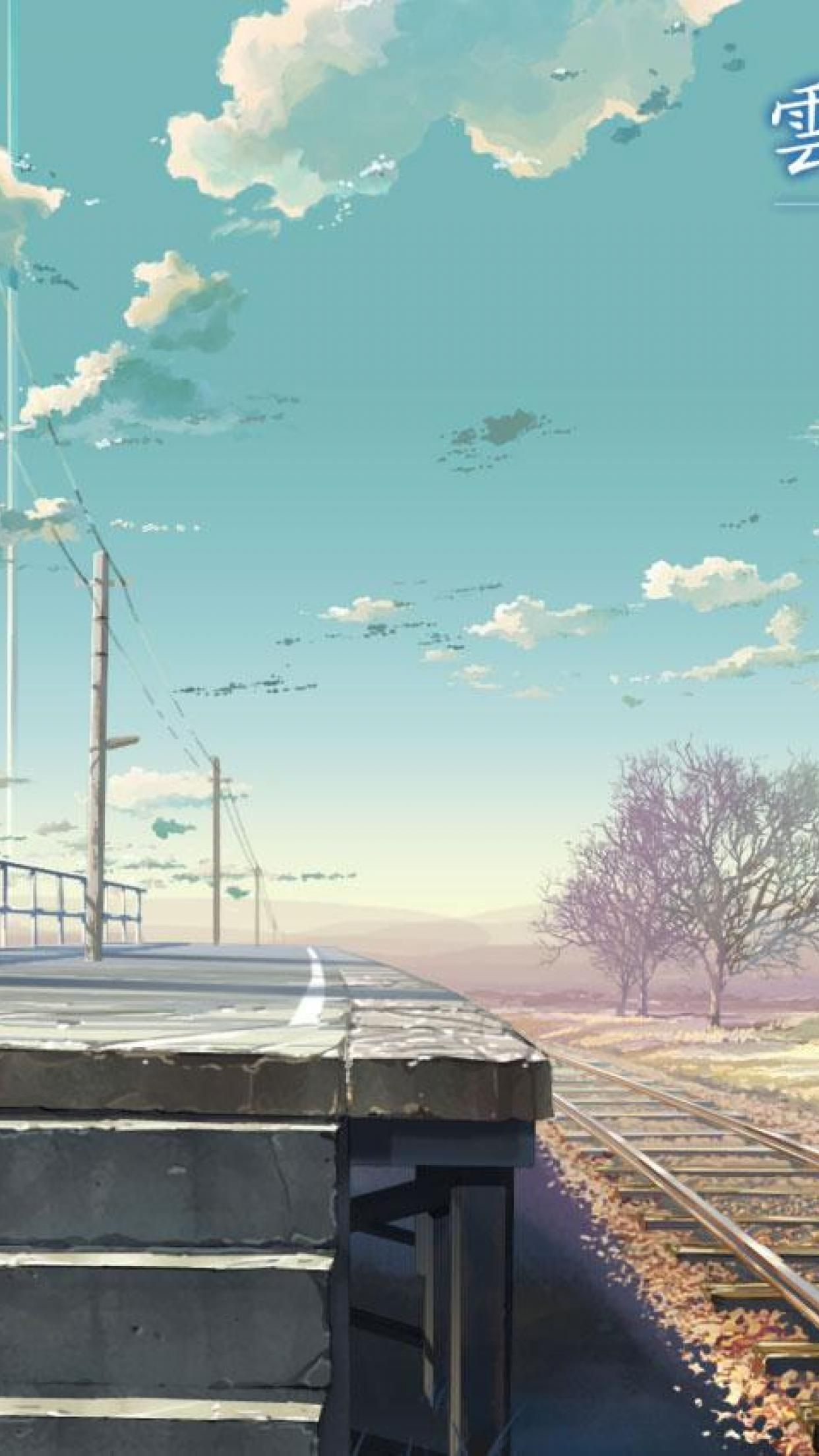 Anime Scenery Iphone Wallpapers Top Free Anime Scenery
