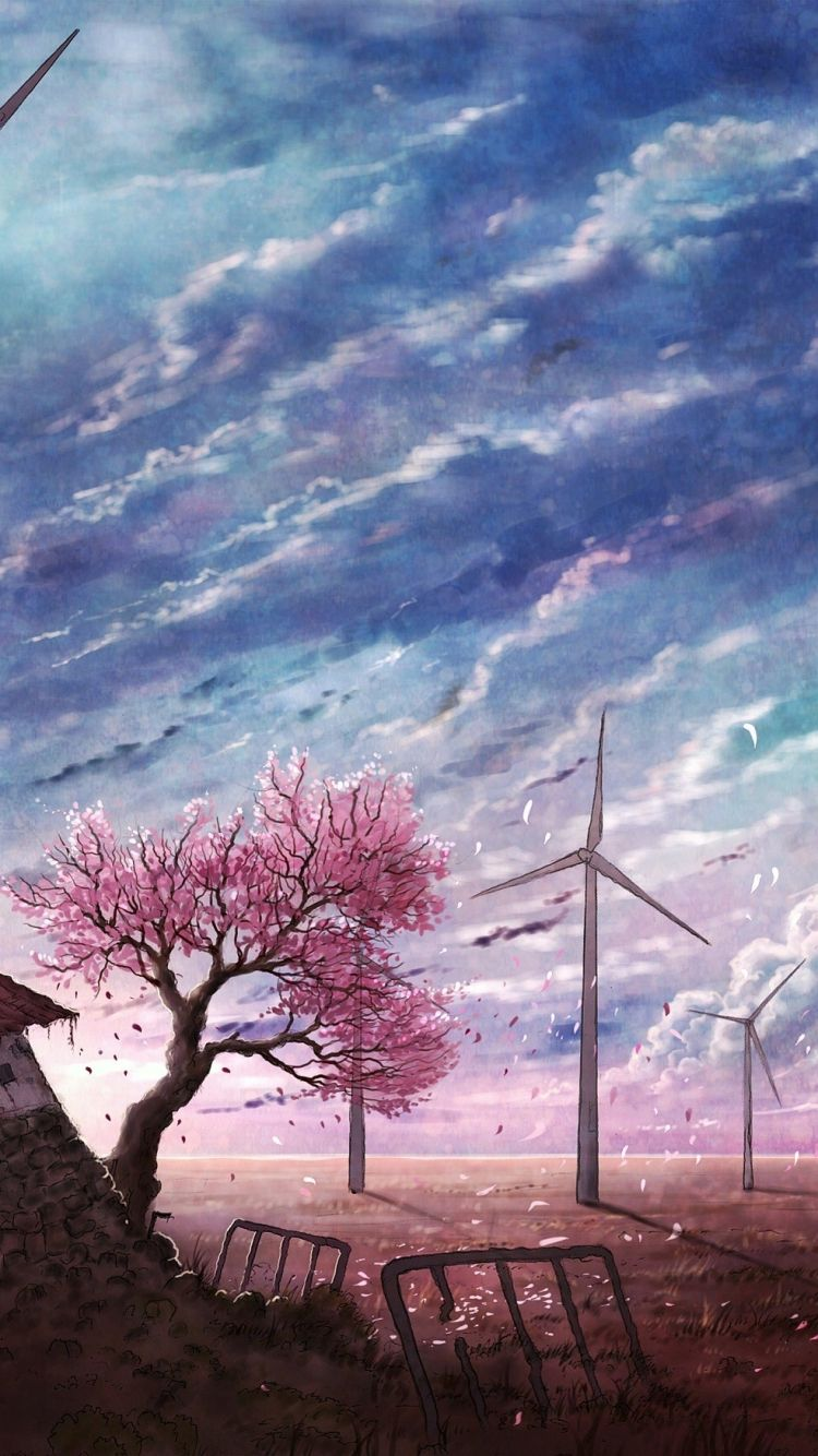 Anime Landscape Phone Wallpapers Top Free Anime Landscape