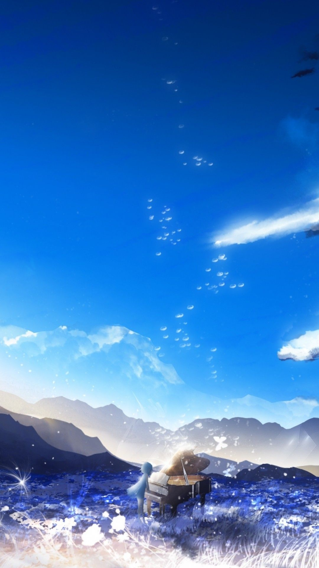 Anime Scenery iPhone Wallpapers - Top Free Anime Scenery ...