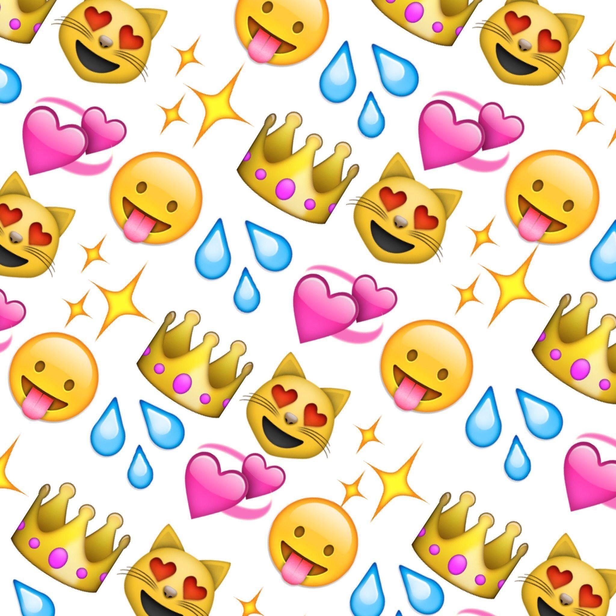 Cute Emoji Wallpapers Top Free Cute Emoji Backgrounds Wallpaperaccess