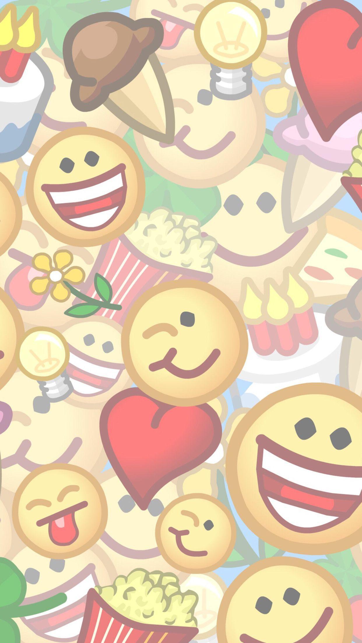 Cute Emoji Wallpapers Top Free Cute Emoji Backgrounds