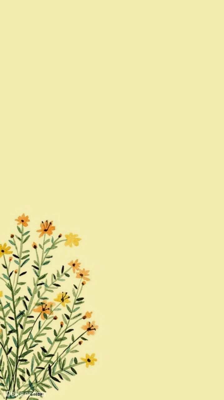 Pastel Yellow Aesthetic Wallpapers Top Free Pastel Yellow