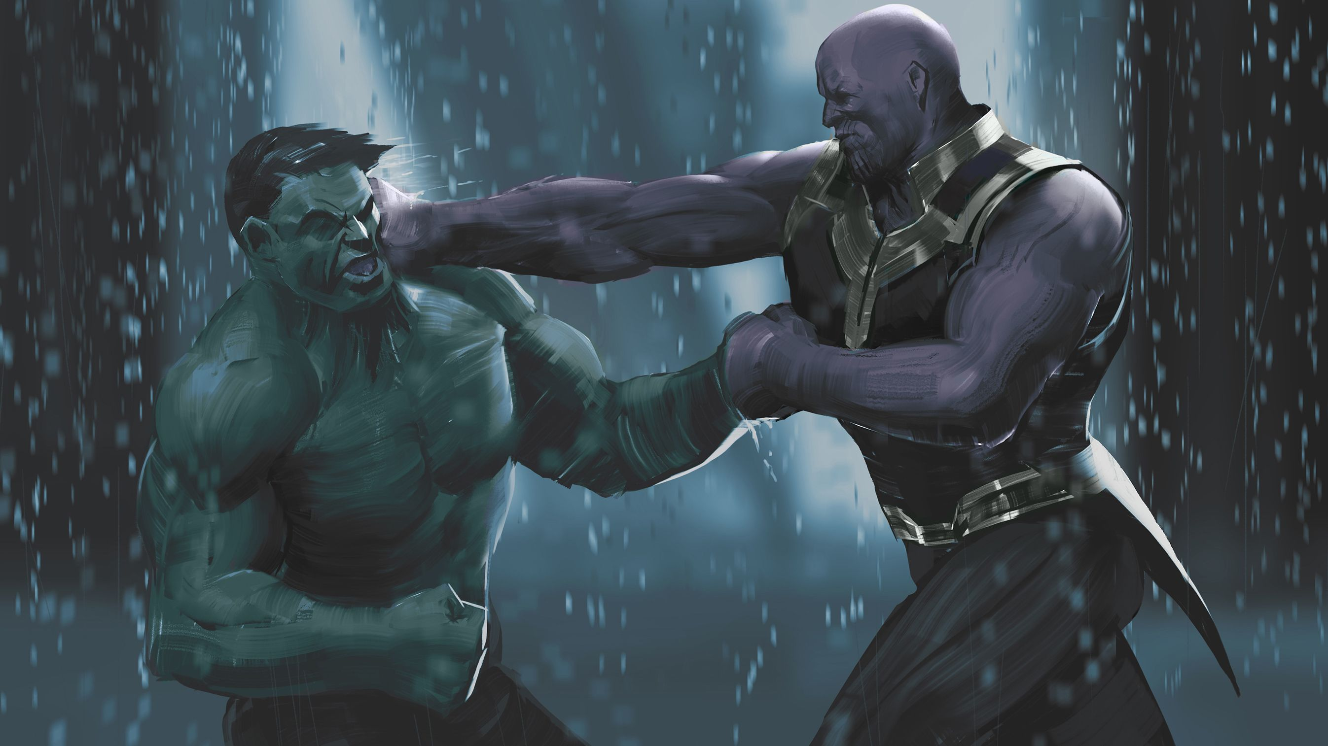 Thanos Was Able To Beat The Hulk Because He Knew How The Hulk Operated