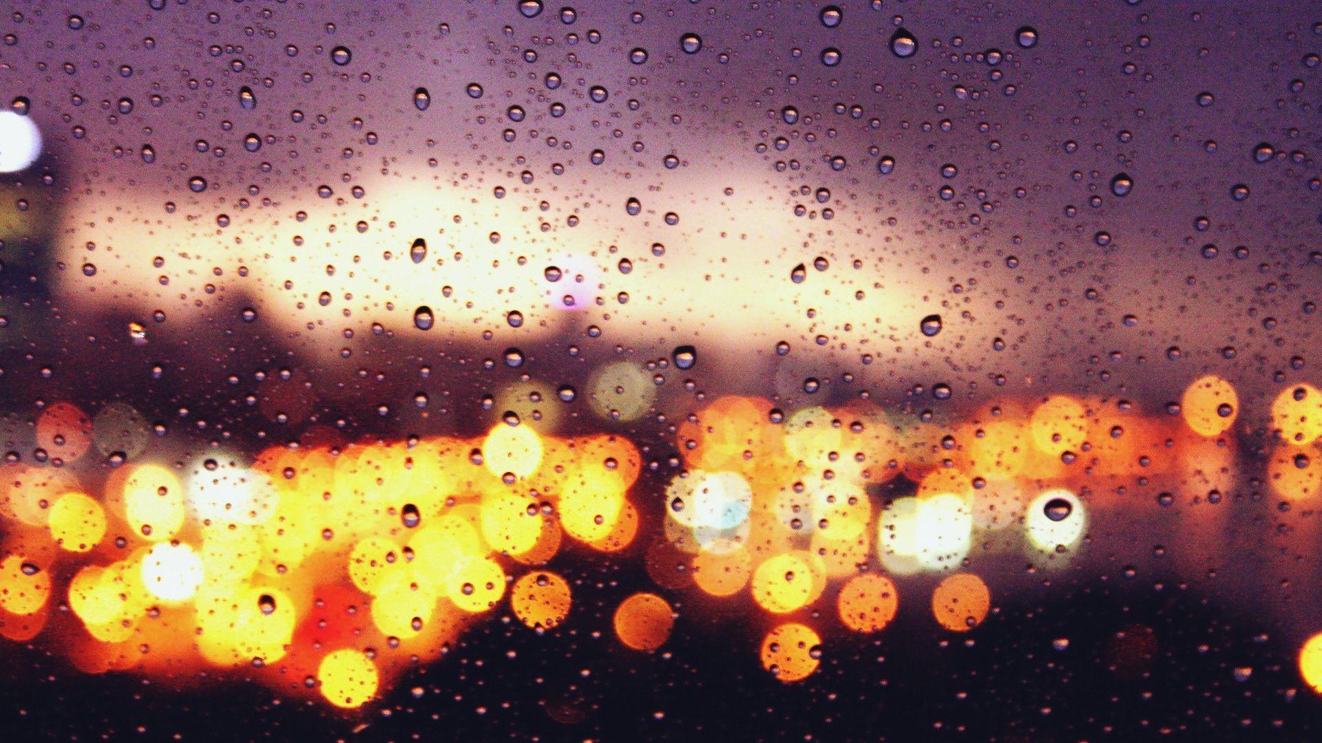 Rain Bokeh Wallpapers Top Free Rain Bokeh Backgrounds