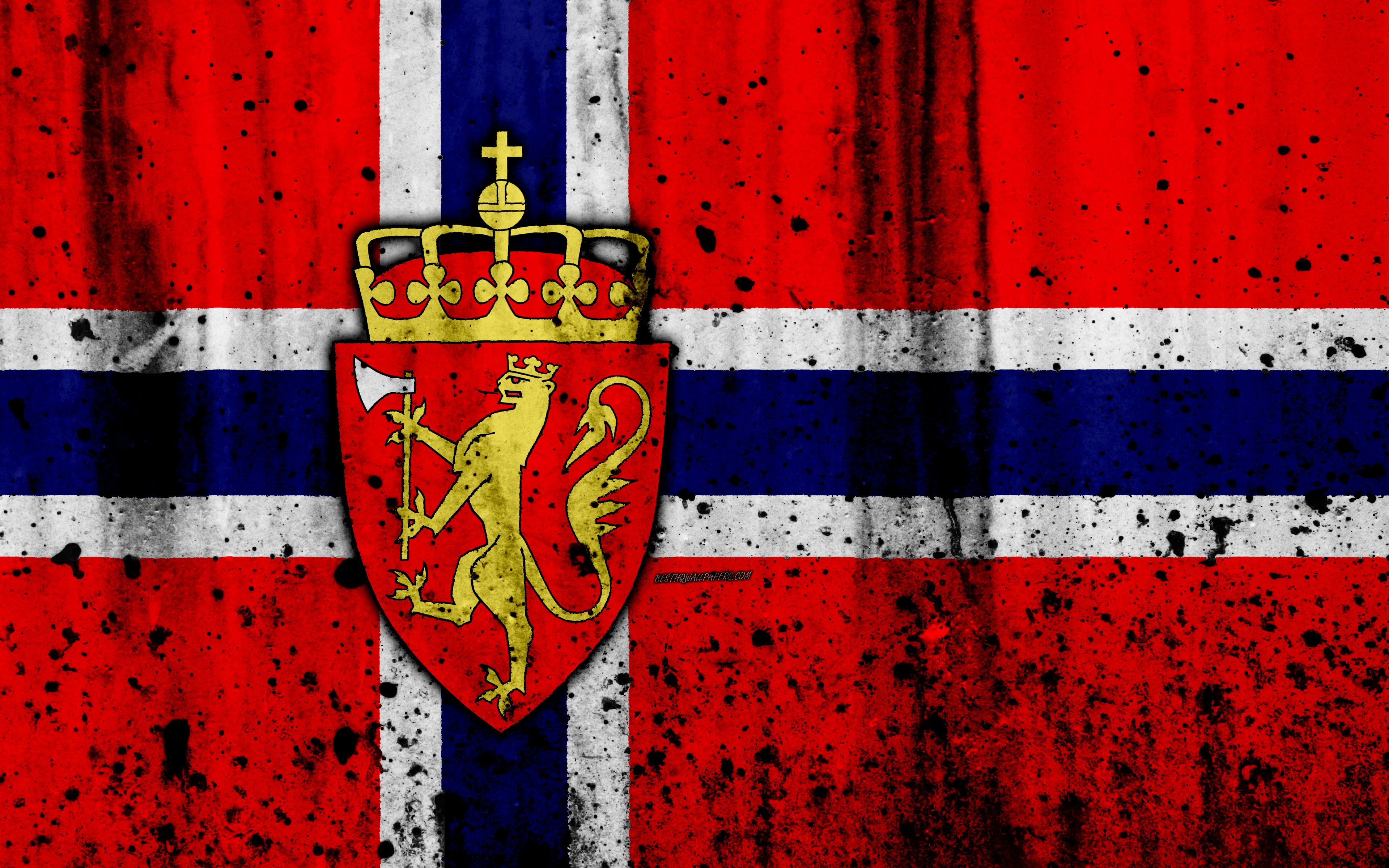 Norway Flag Wallpapers Top Free Norway Flag Backgrounds