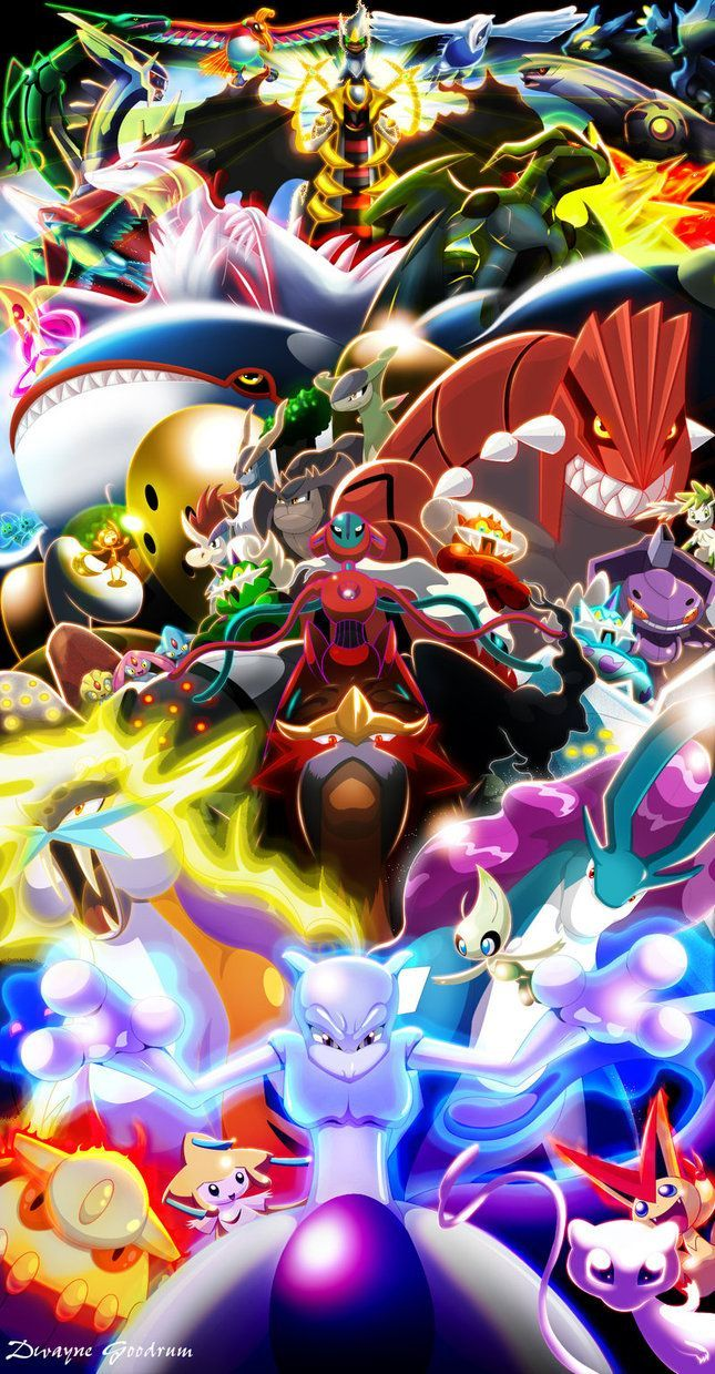 Every Legendary Pokemon Wallpapers Top Free Every Legendary