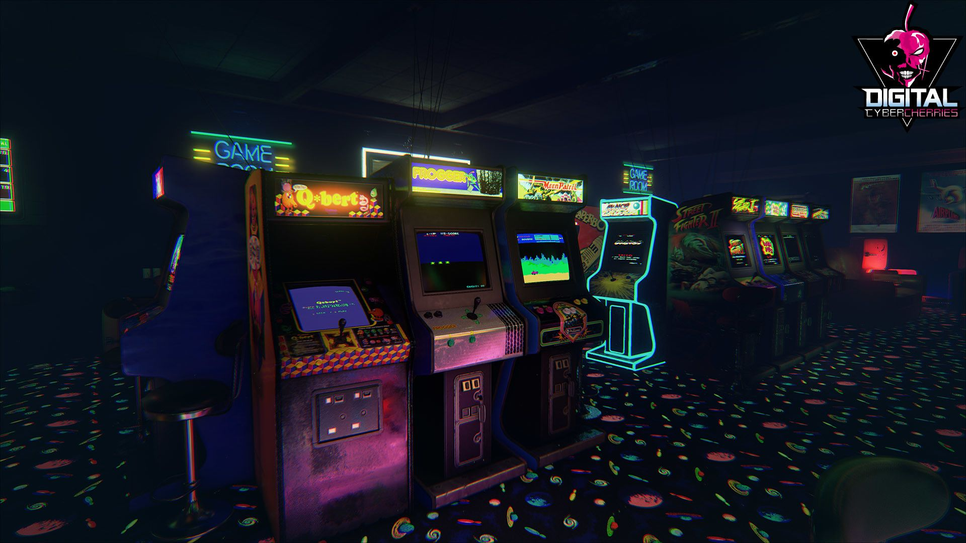 80s Arcade Wallpapers Top Free 80s Arcade Backgrounds Wallpaperaccess