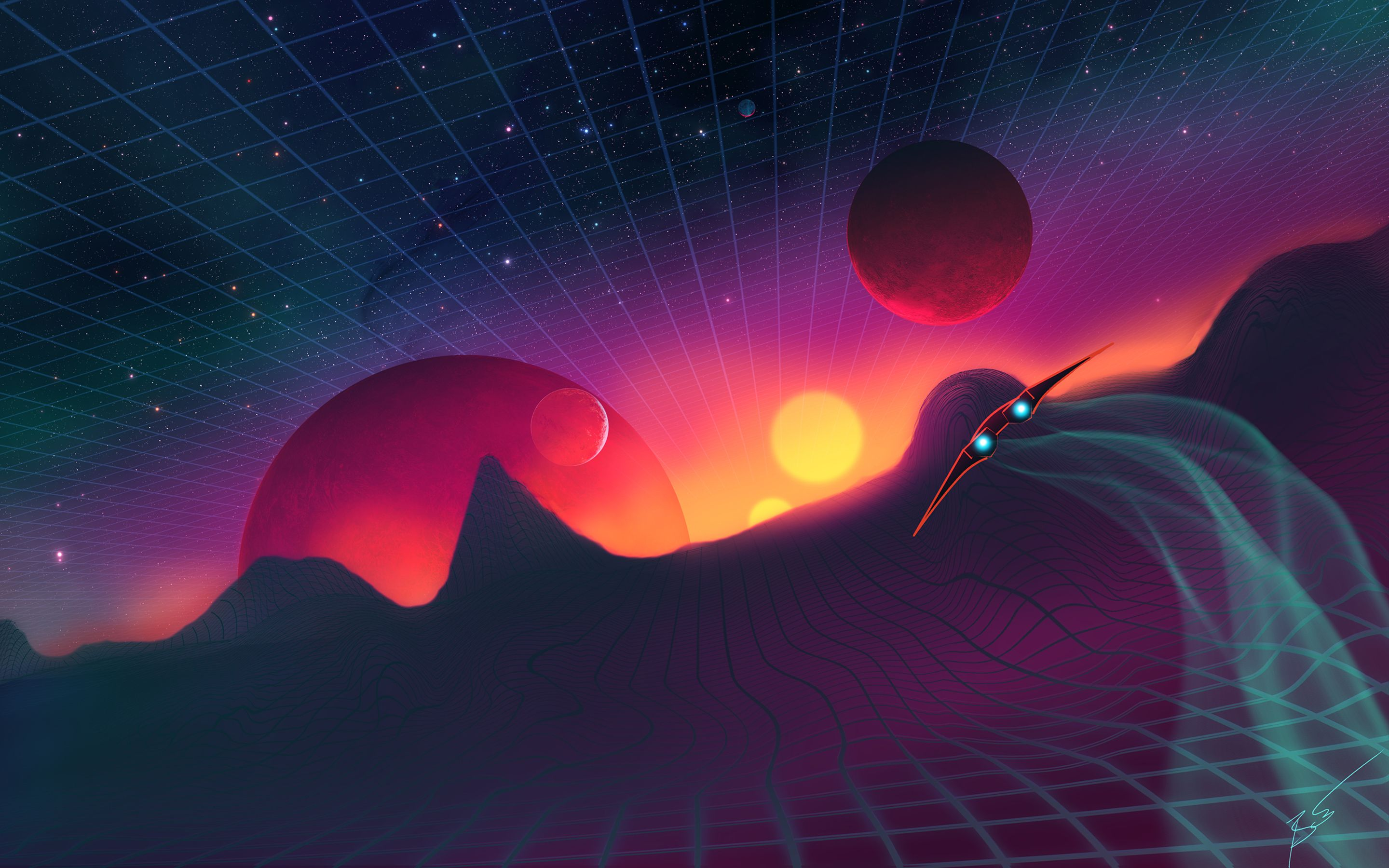 Retro Space Wallpapers Top Free Retro Space Backgrounds
