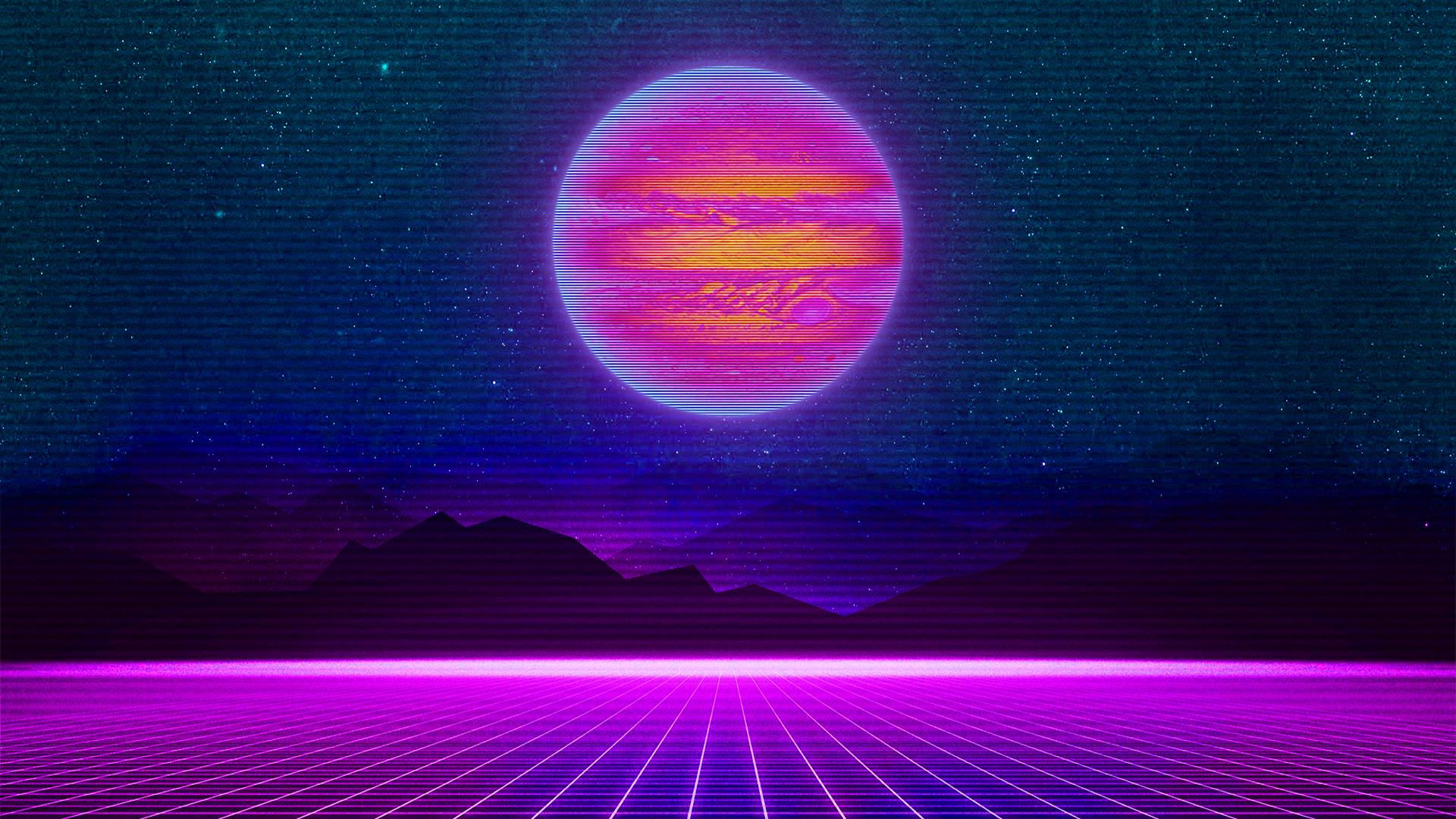 Retro Wave Wallpapers Top Free Retro Wave Backgrounds Wallpaperaccess