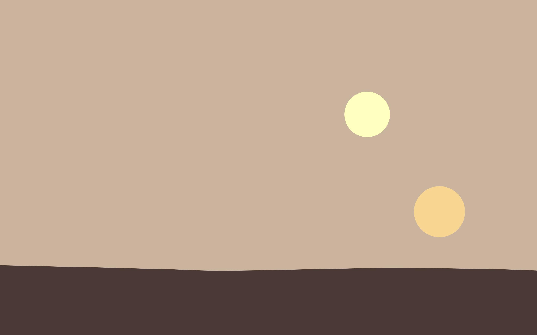 Minimalist Tatooine Wallpapers Top Free Minimalist Tatooine Backgrounds Wallpaperaccess