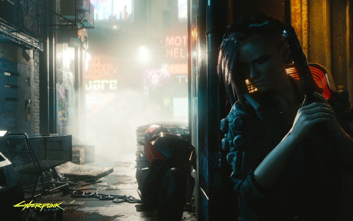 Cyberpunk 2077 Wallpapers Top Free Cyberpunk 2077 Backgrounds Wallpaperaccess