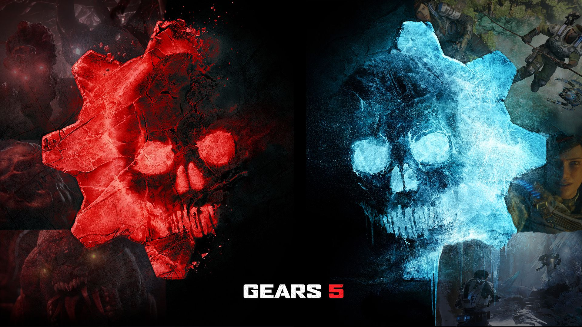 Gears 5 Wallpapers Top Free Gears 5 Backgrounds Wallpaperaccess