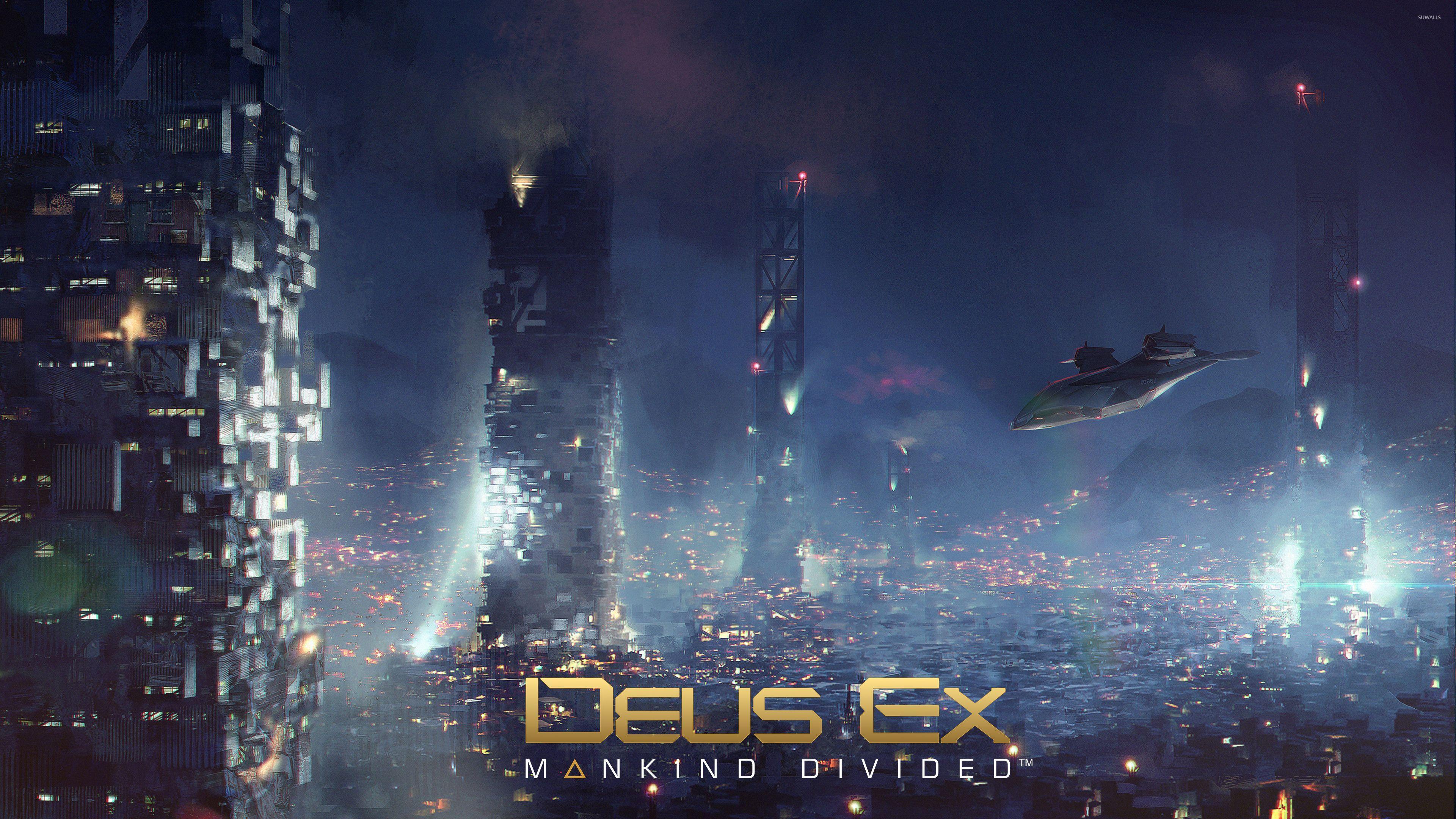 Deus Ex Wallpapers Top Free Deus Ex Backgrounds Wallpaperaccess