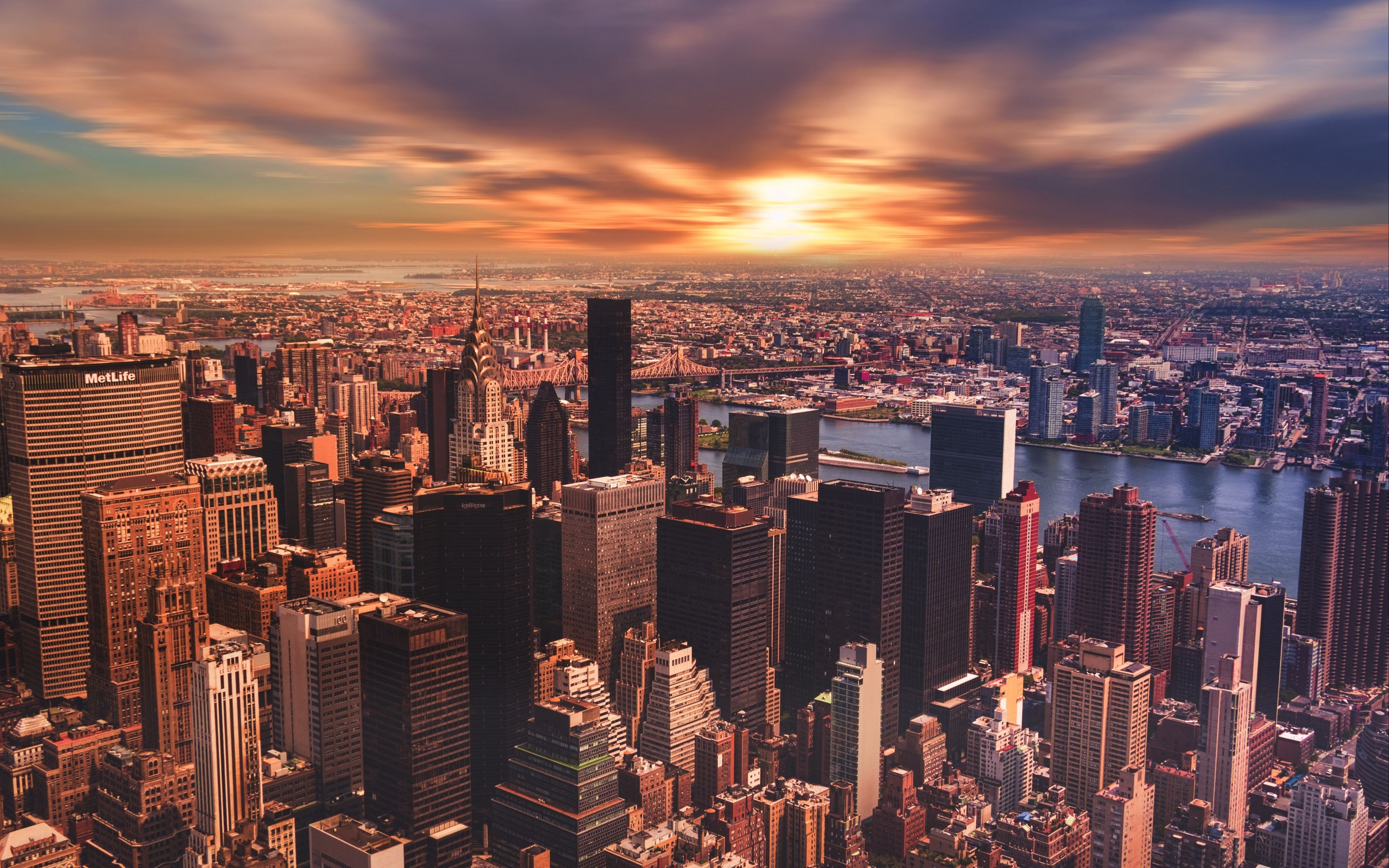 New York 4k Sunset Wallpapers Top Free New York 4k Sunset Backgrounds Wallpaperaccess