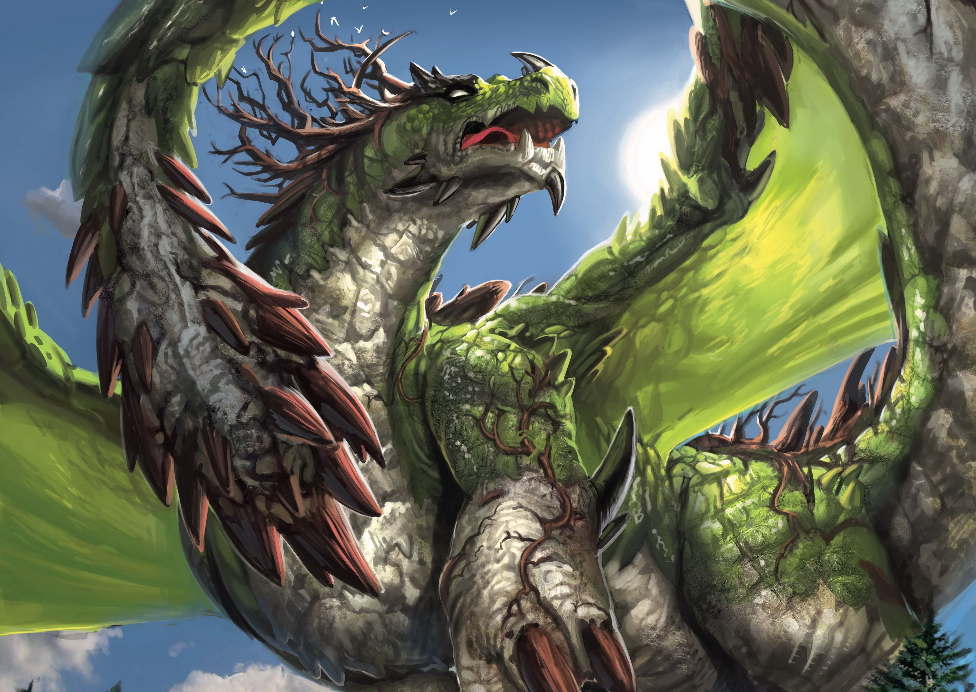 Earth Dragon Wallpapers Top Free Earth Dragon Backgrounds