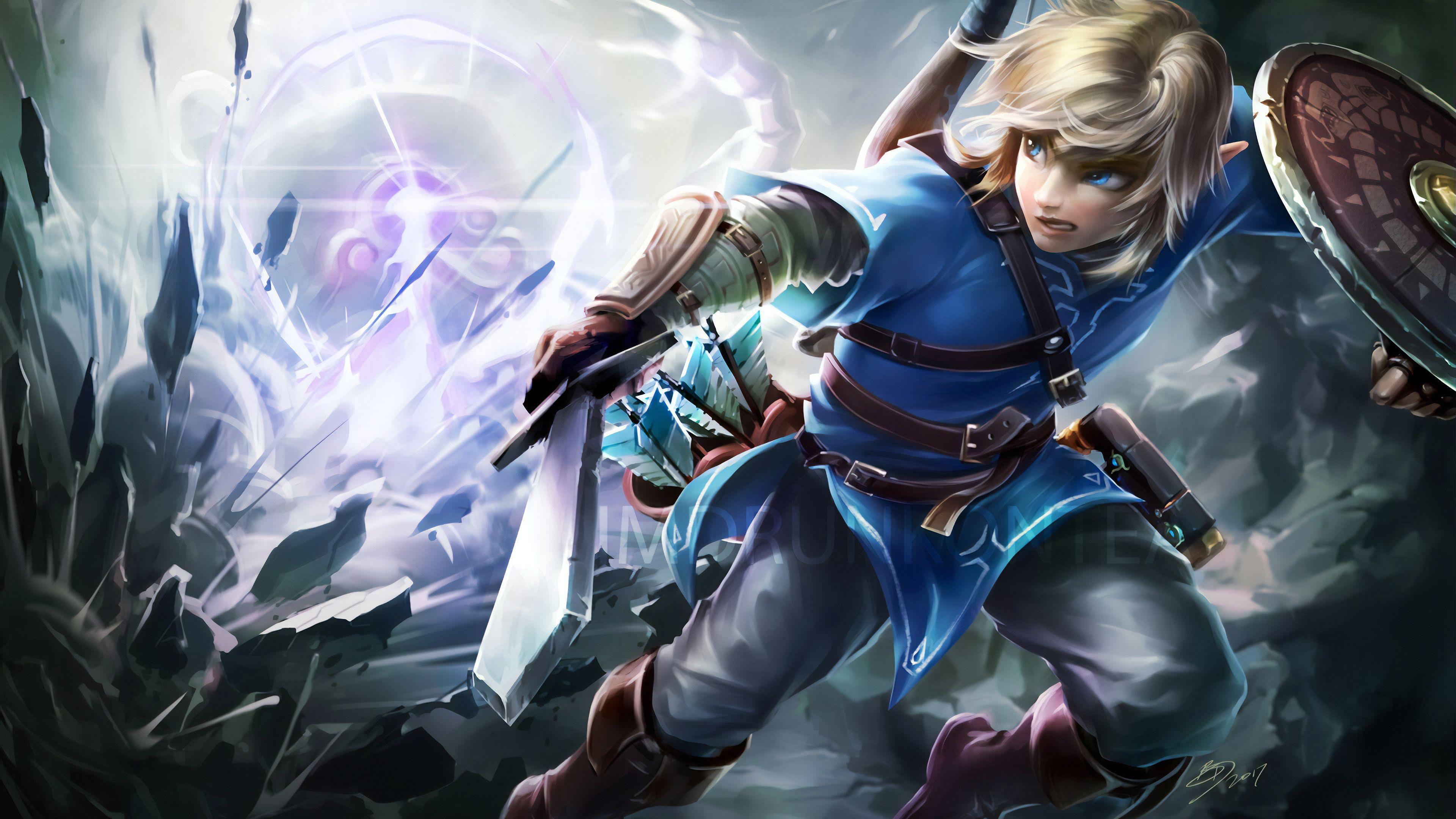 Zelda 4k Wallpapers Top Free Zelda 4k Backgrounds Wallpaperaccess
