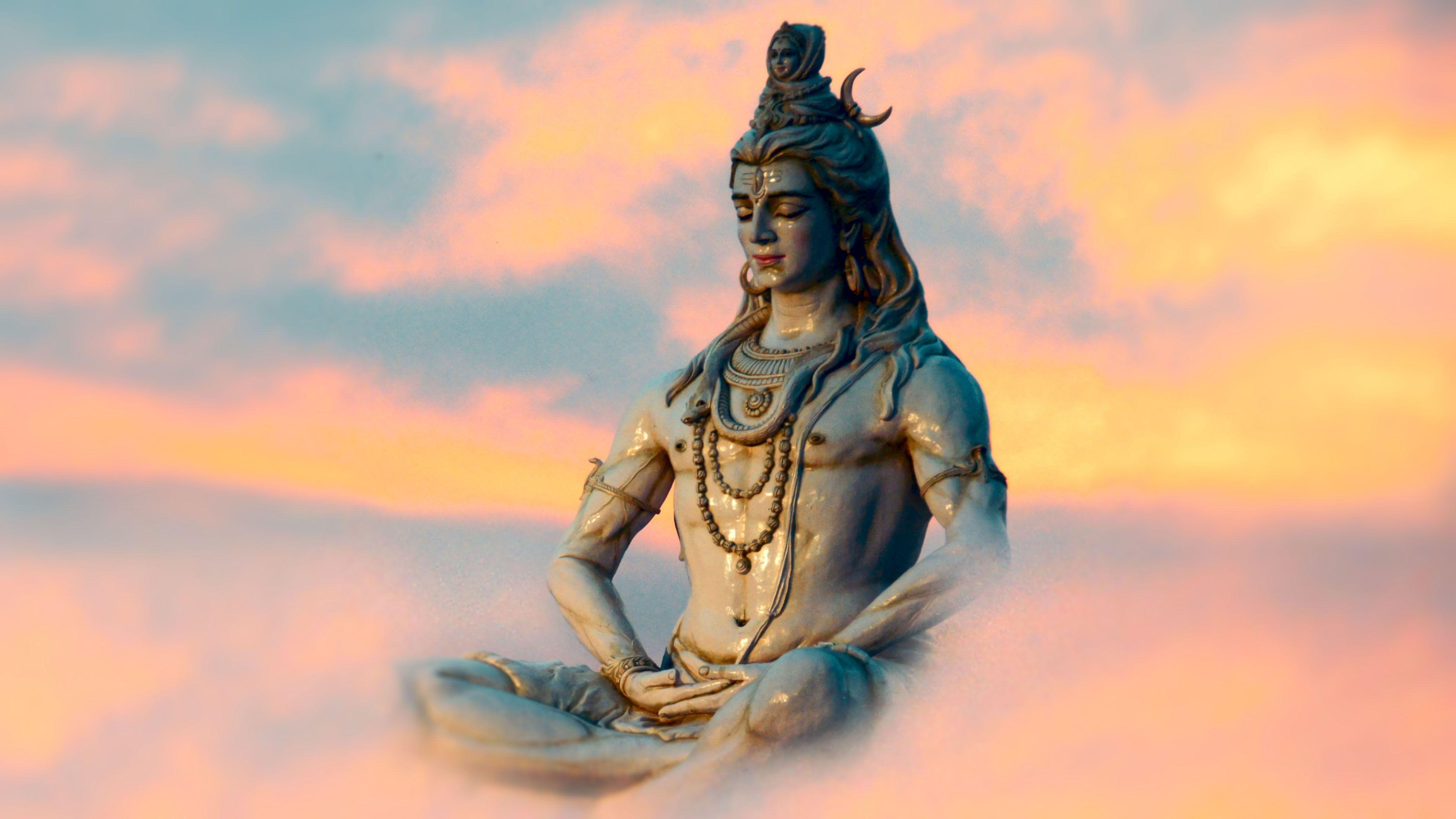Hình nền HD 3840x2160 Chúa Shiva