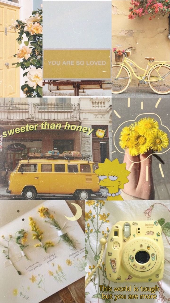 Yellow Aesthetic Tumblr Wallpapers Top Free Yellow Aesthetic