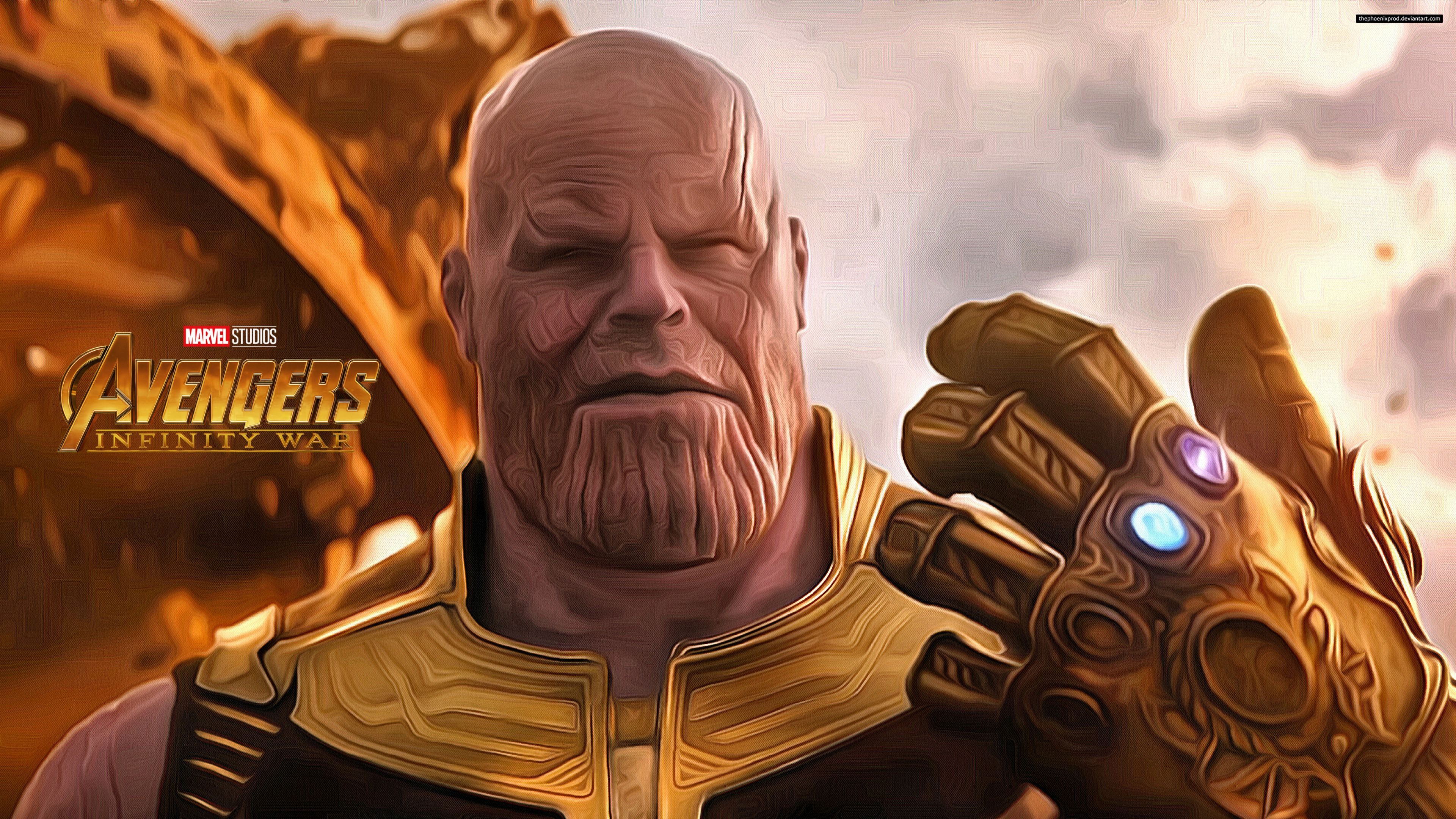Thanos 4k Digital Wallpapers Top Free Thanos 4k Digital