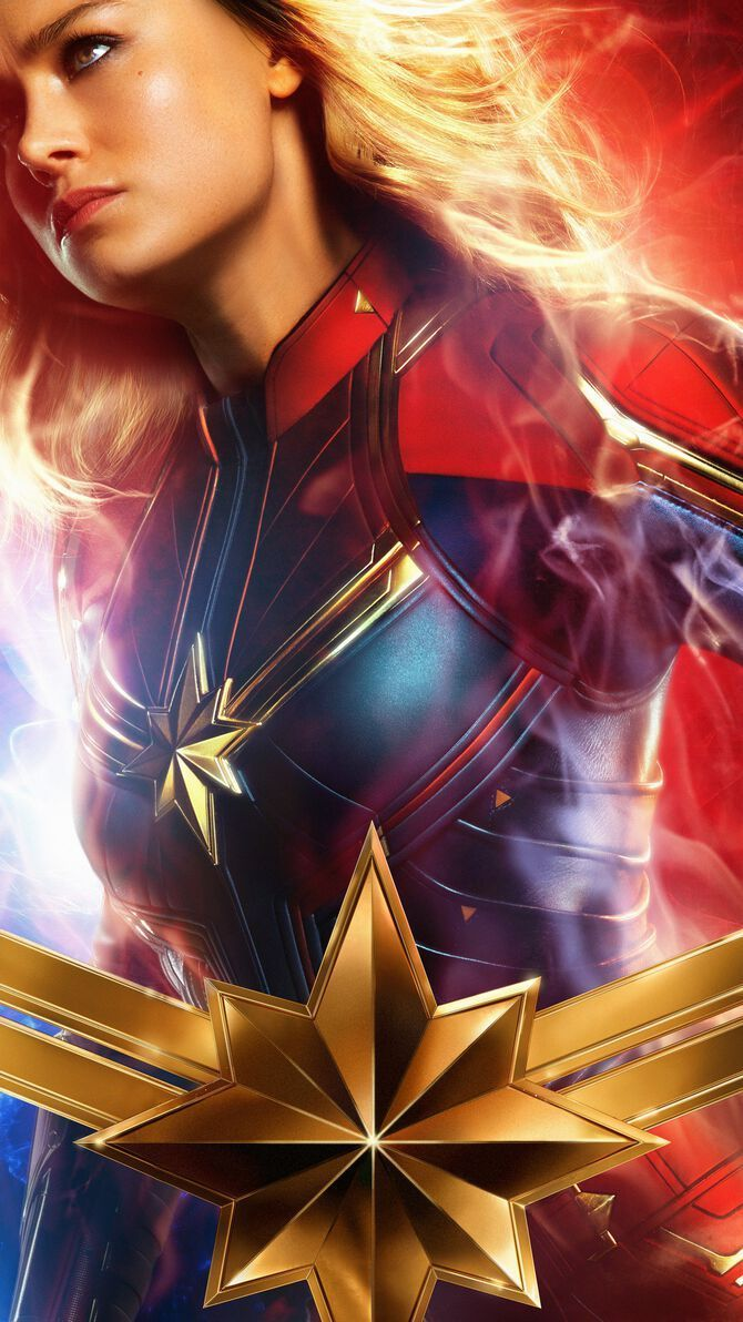 Captain Marvel Phone Wallpapers Top Free Captain Marvel Phone Backgrounds Wallpaperaccess