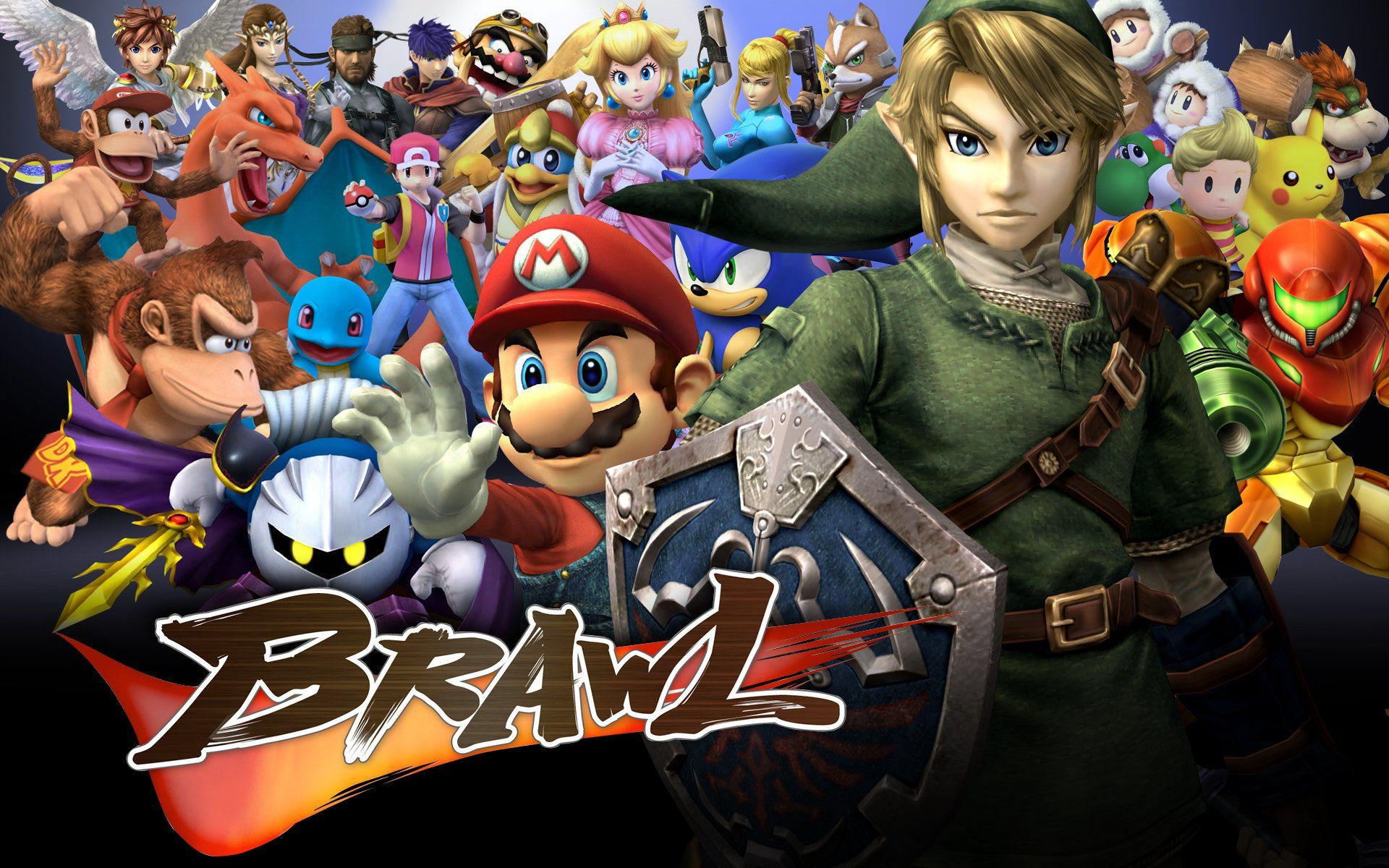 Super Smash Bros Brawl Wallpapers Top Free Super Smash Bros