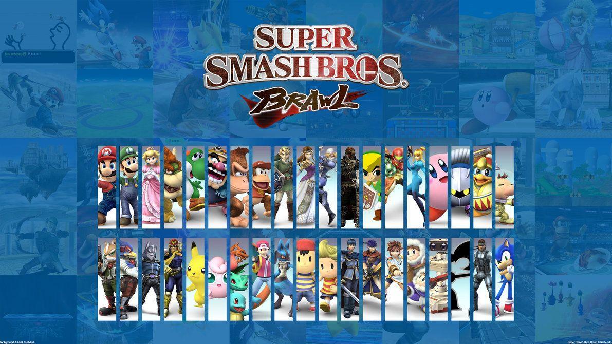 Super Smash Bros Brawl Wallpapers Top Free Super Smash Bros
