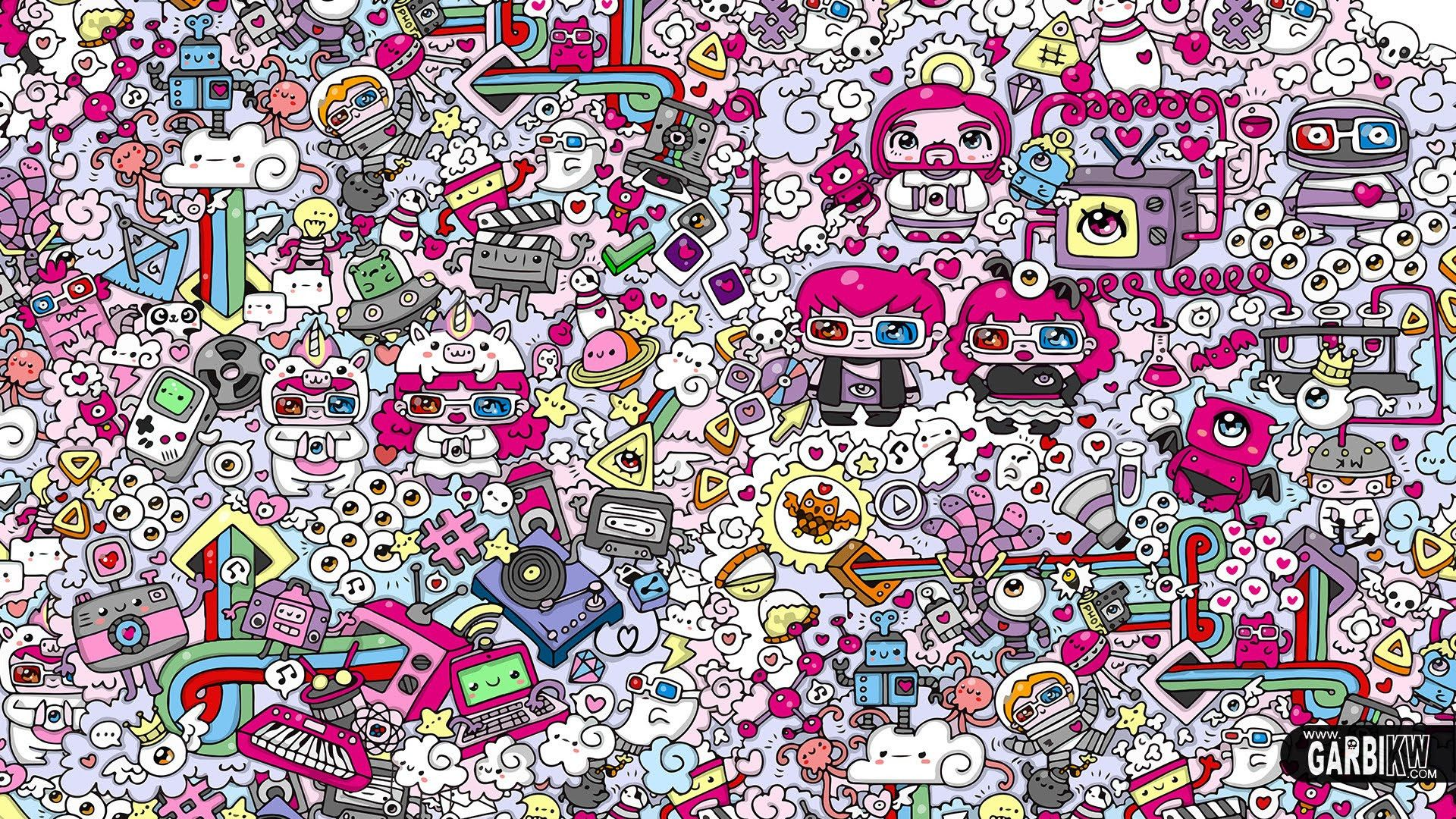 Doodle Wallpapers Top Free Doodle Backgrounds