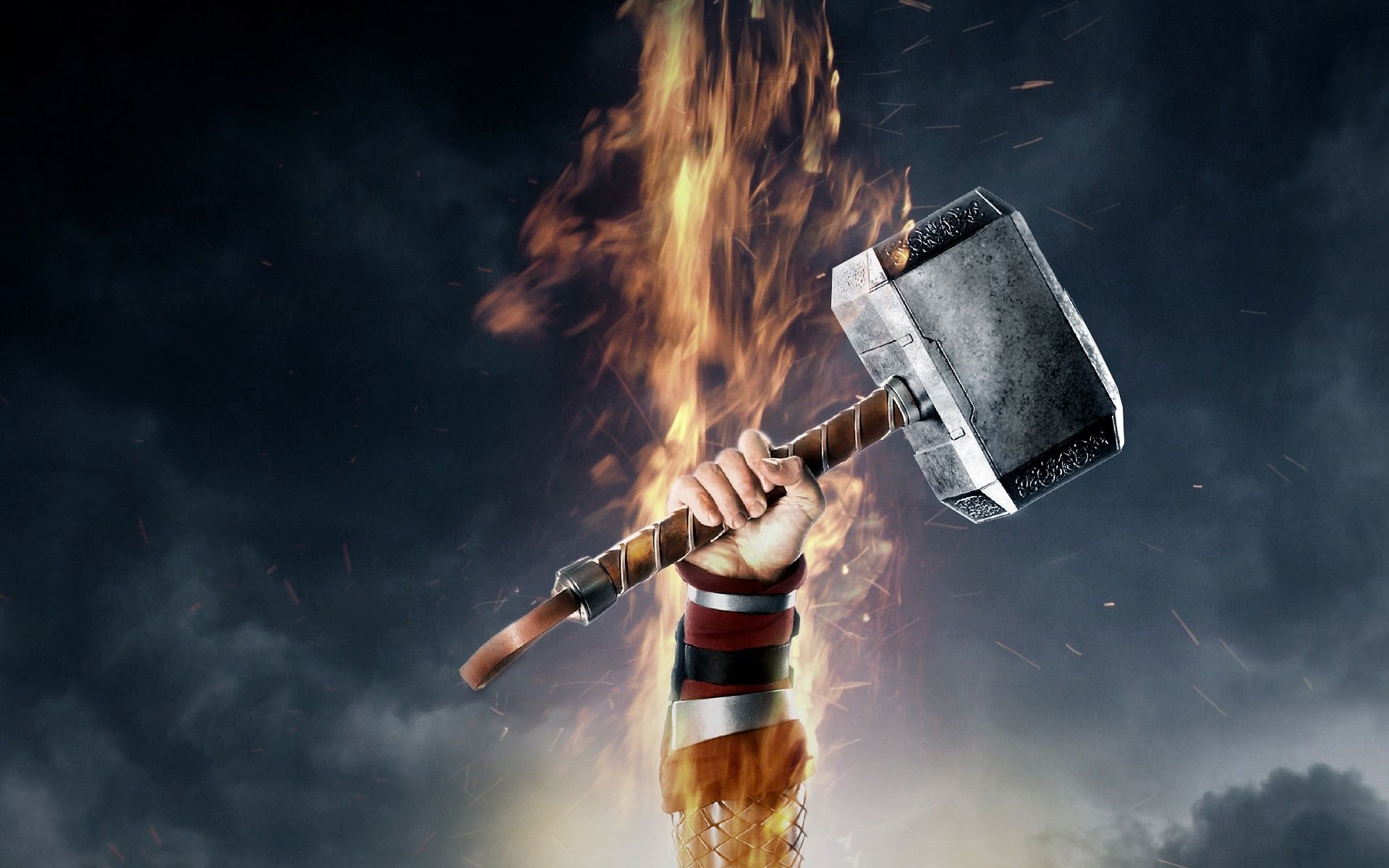 Thor Hammer Wallpapers Top Free Thor Hammer Backgrounds Wallpaperaccess