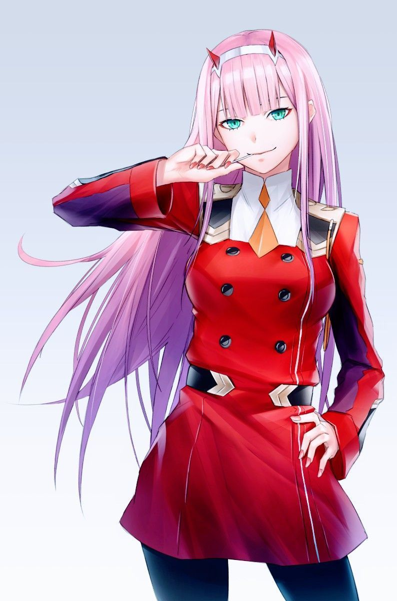 Zero Two Wallpapers Top Free Zero Two Backgrounds