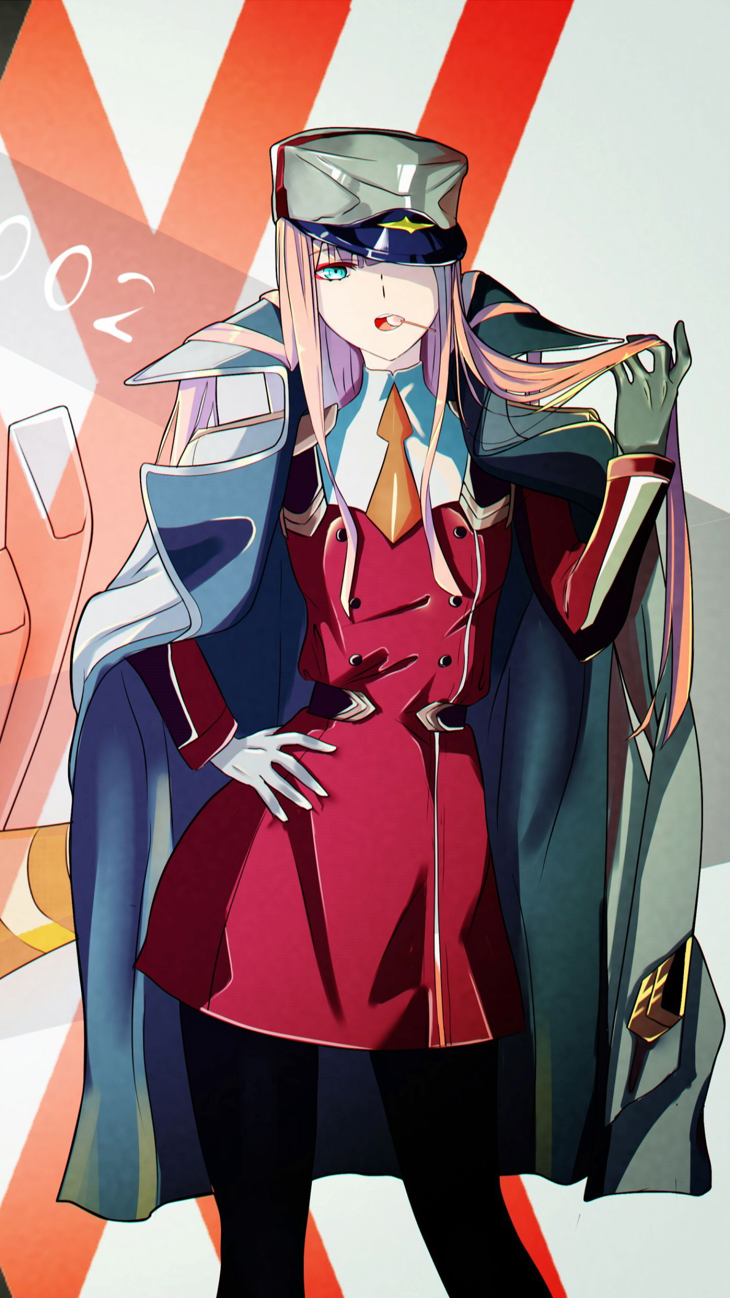 Zero Two Wallpapers Top Free Zero Two Backgrounds Wallpaperaccess