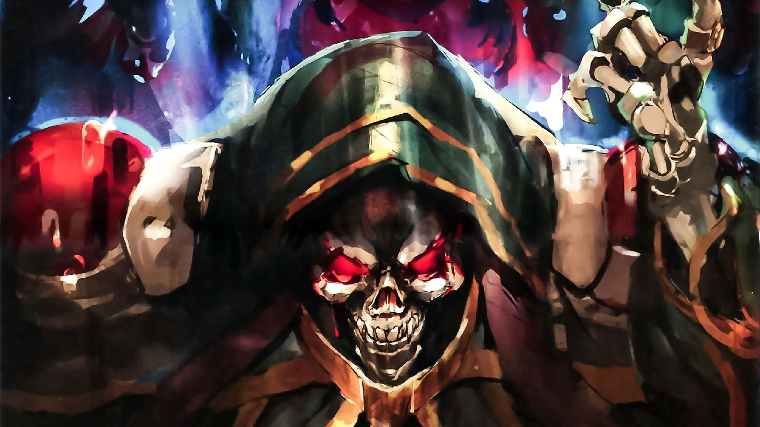 Overlord Wallpapers Top Free Overlord Backgrounds Wallpaperaccess