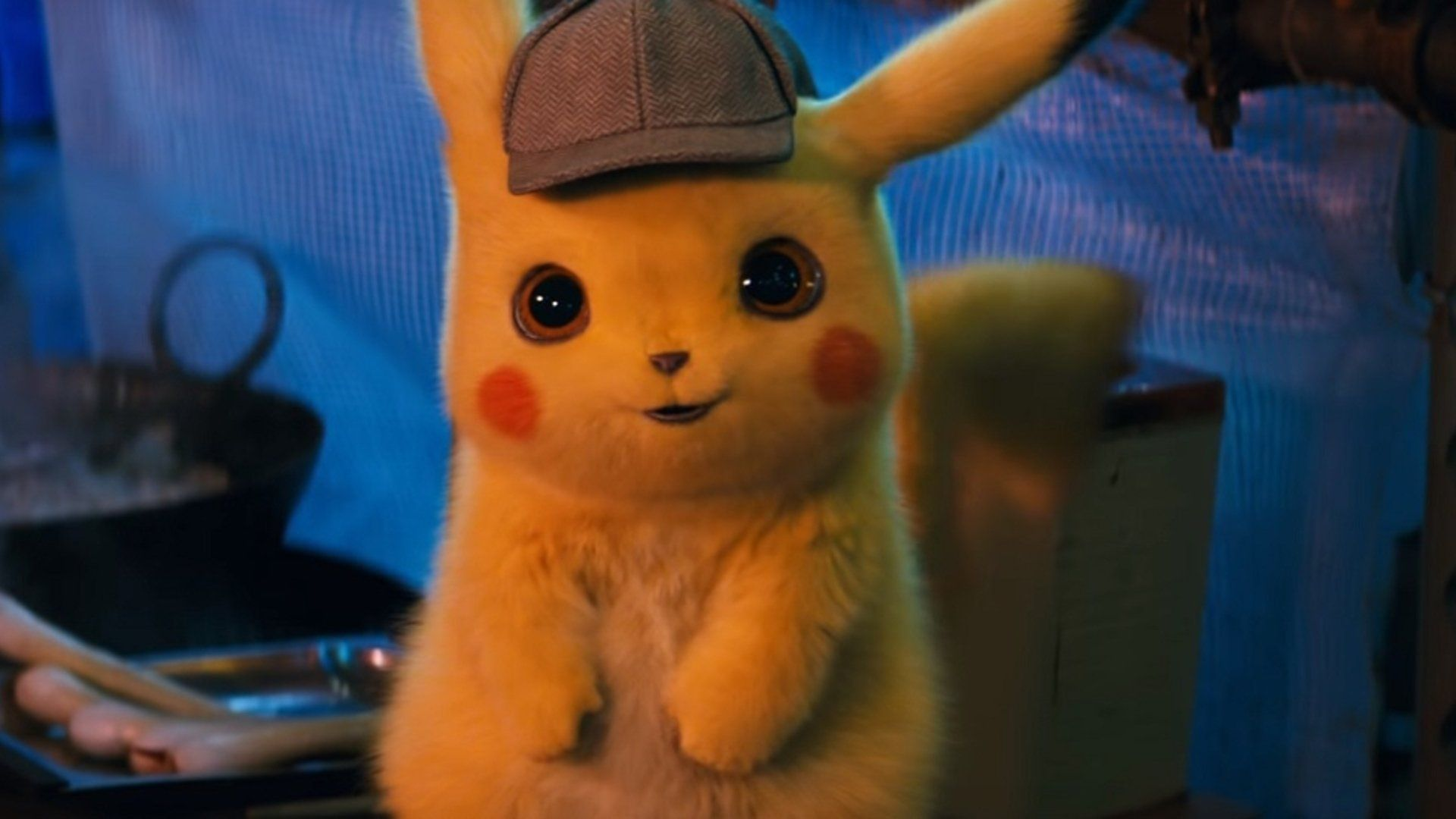 Detective Pikachu Wallpapers Top Free Detective Pikachu Backgrounds Wallpaperaccess