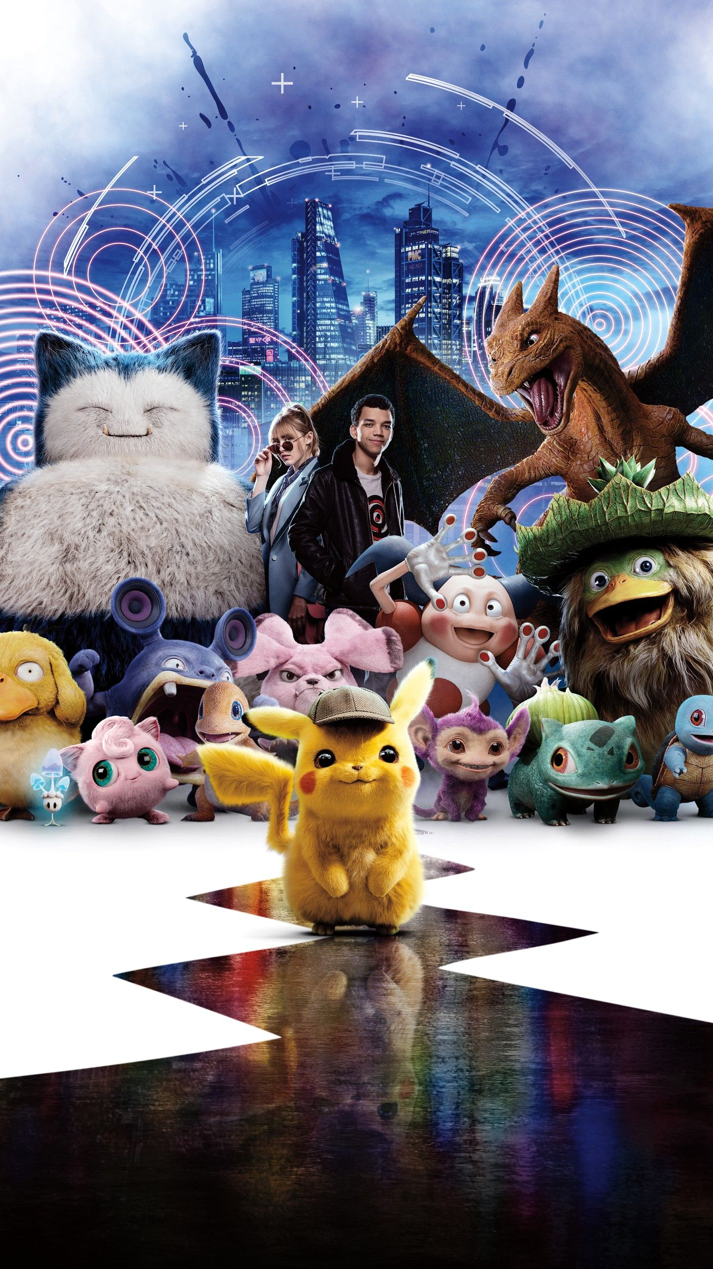 Pokemon Detective Pikachu Wallpapers Top Free Pokemon Detective