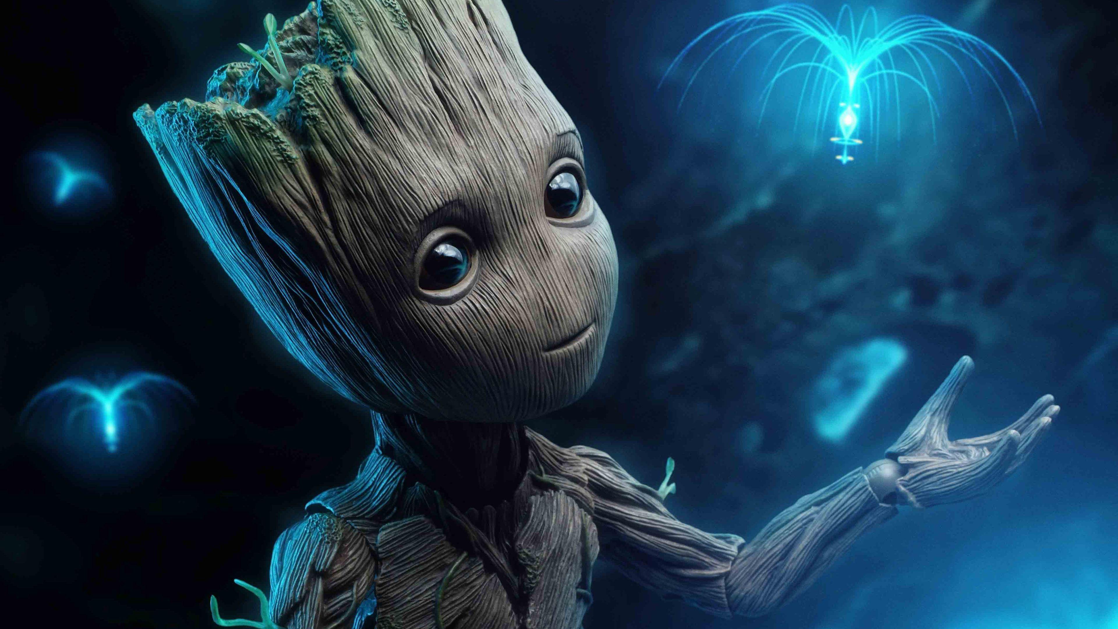 Baby Groot Wallpapers - Top Free Baby Groot Backgrounds ...
