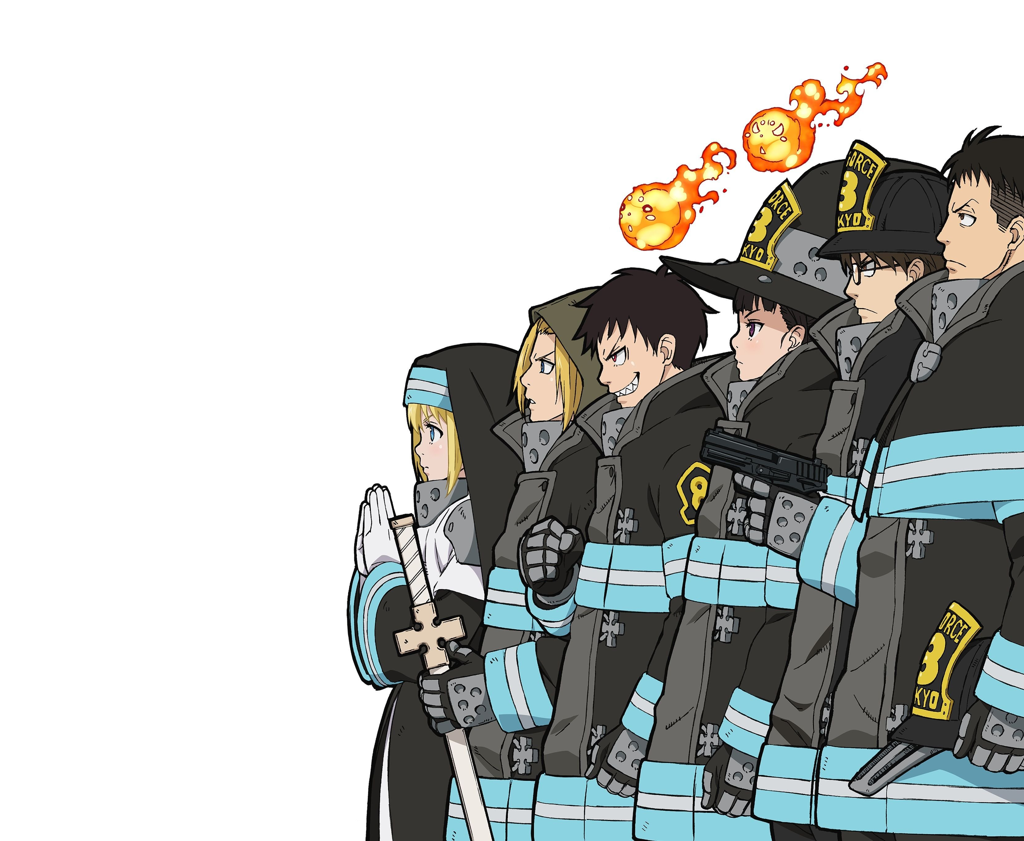 Fire Force Wallpapers Top Free Fire Force Backgrounds Wallpaperaccess Find the best air force wallpaper on wallpapertag. fire force wallpapers top free fire