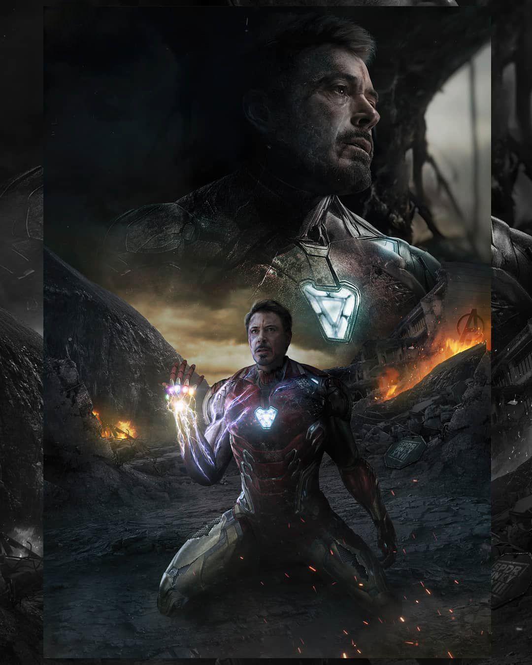 Iron Man Endgame Hd Wallpapers Top Free Iron Man Endgame