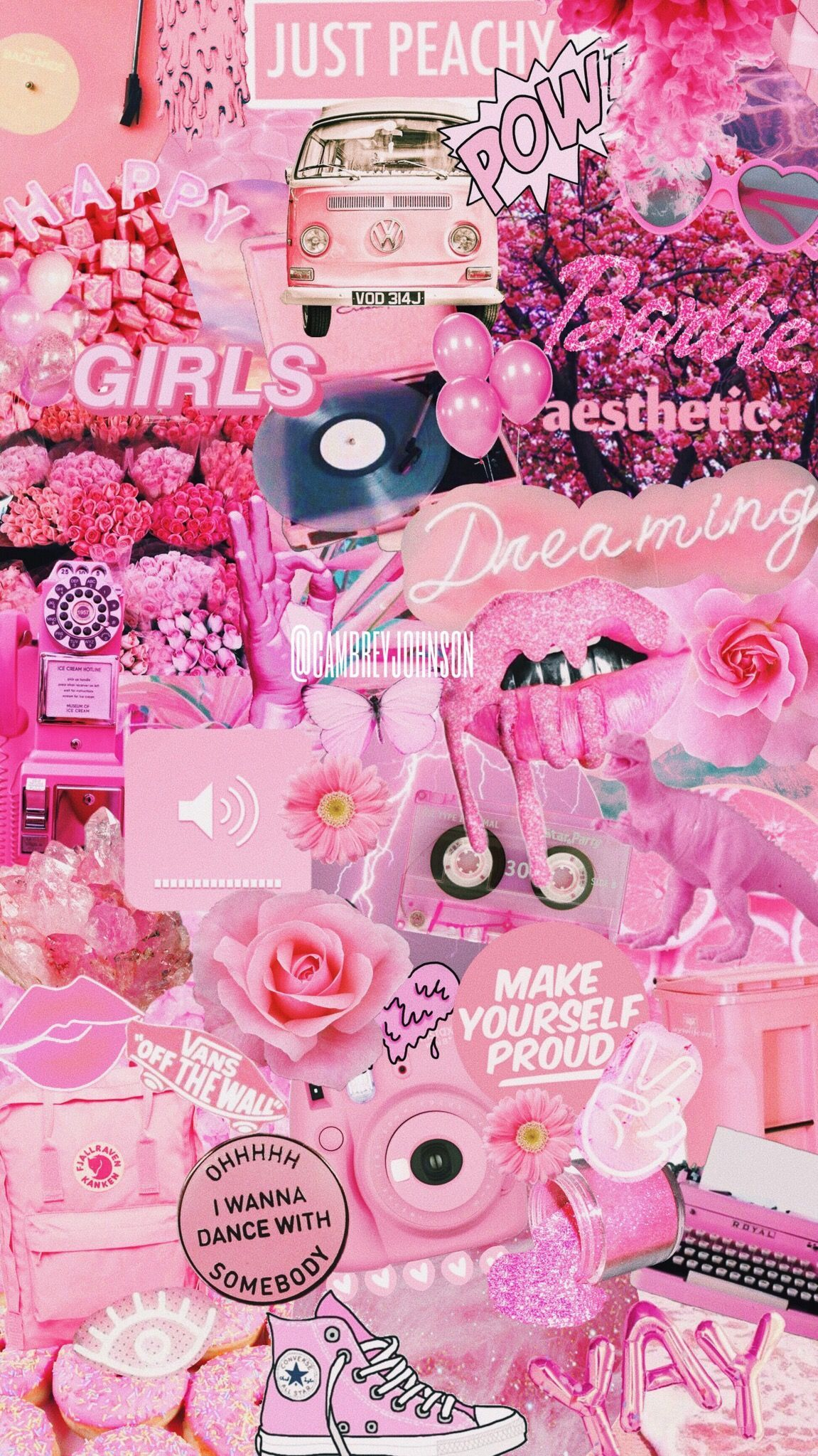 Pink Girl iPhone Wallpapers   Top Free Pink Girl iPhone ...