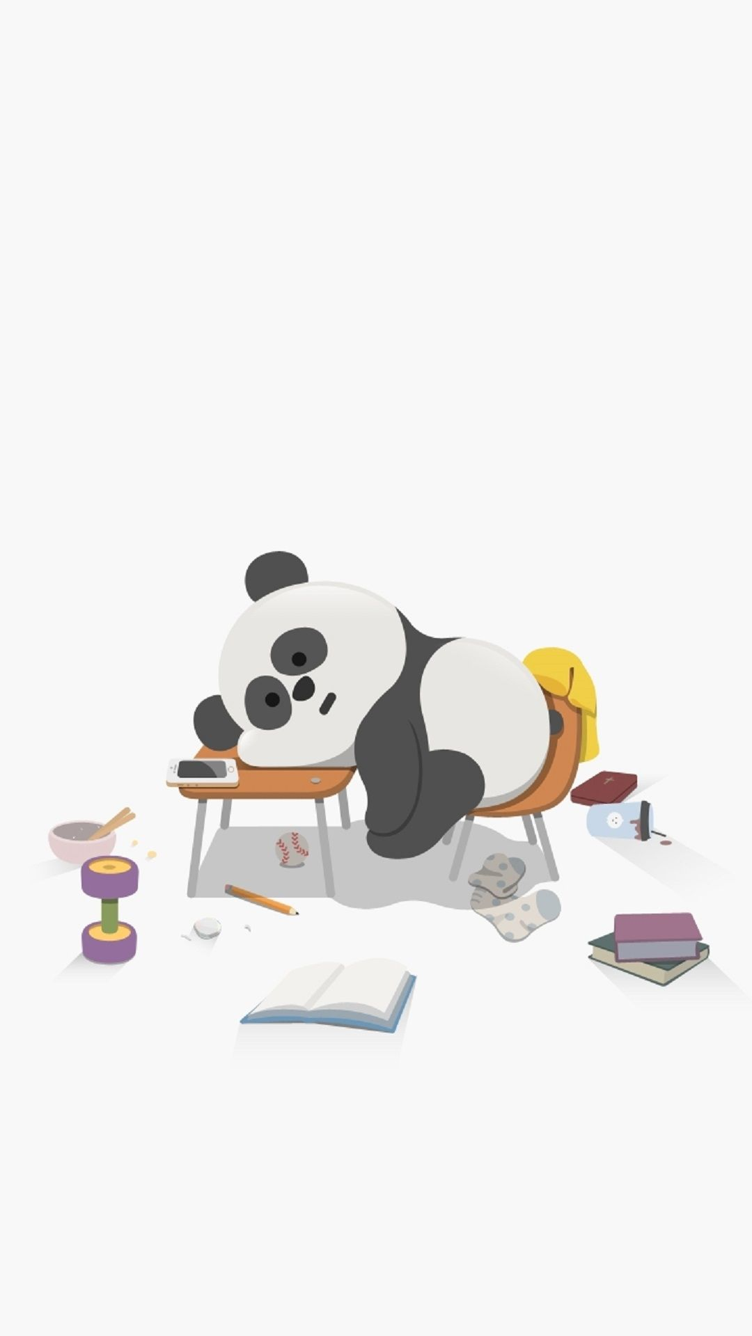 Tap To See 8 Cartoon Sleepy Animals Zzz Wallpapers